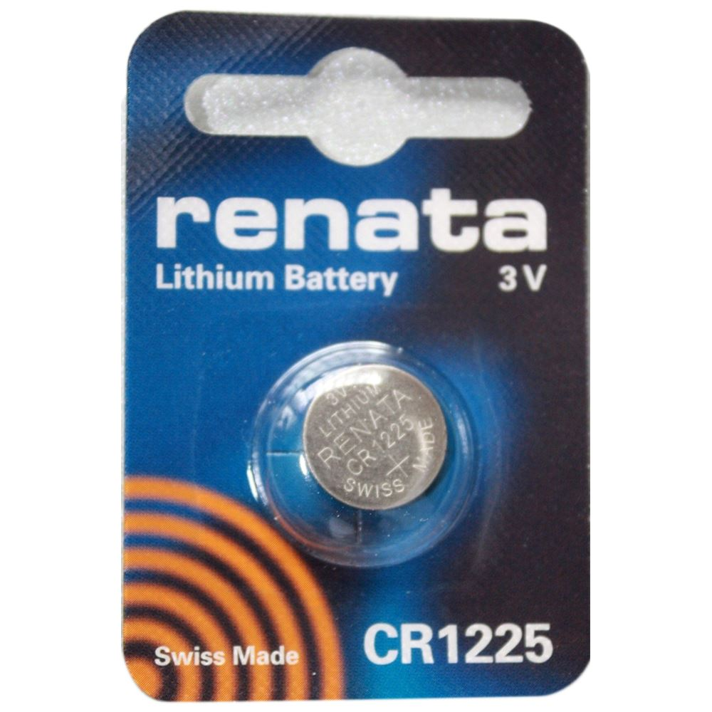 renata cr1225 swiss made 3v lithium coin cell battery new ebay. Black Bedroom Furniture Sets. Home Design Ideas