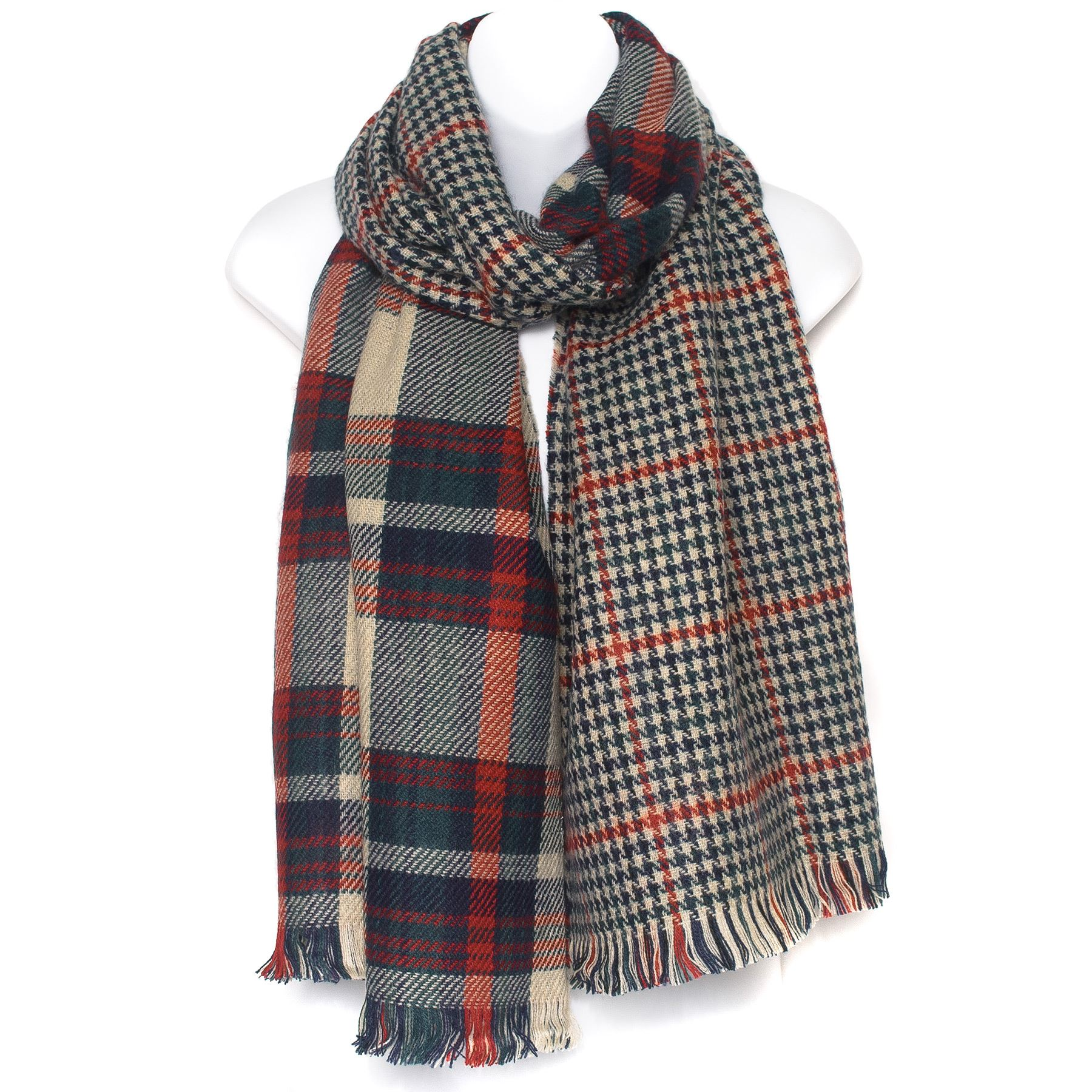 mens unisex scarve scarf shawl reversible