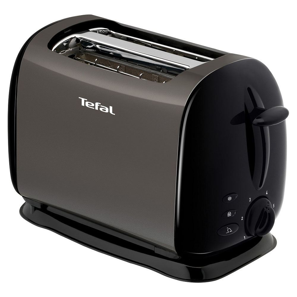 Tefal-TT176940-Titanium-Black-800W-2-Slice-Toaster-with-Variable-Width-Slots-New