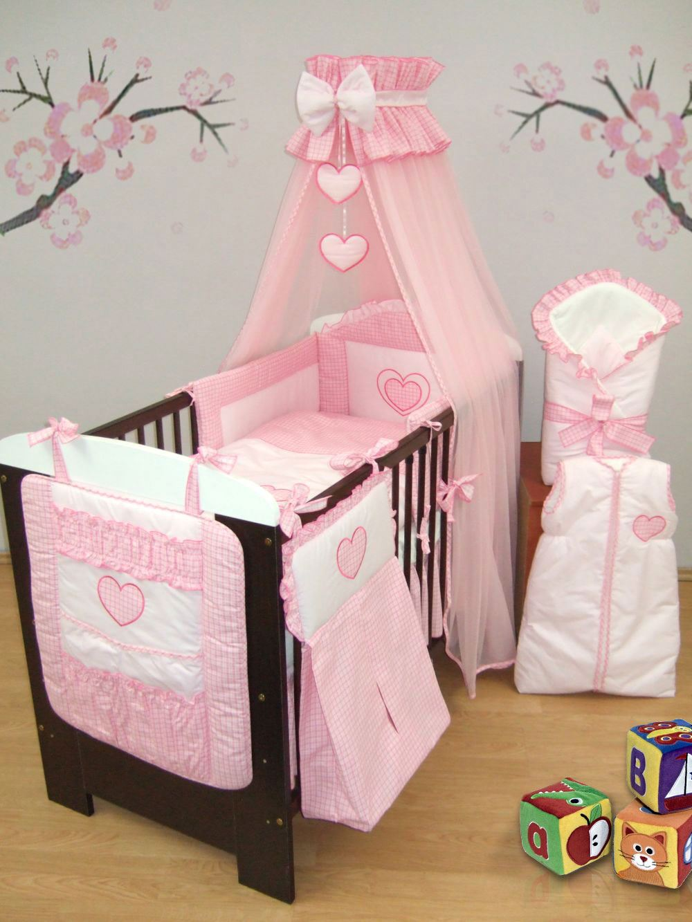 how to set a baby cot up