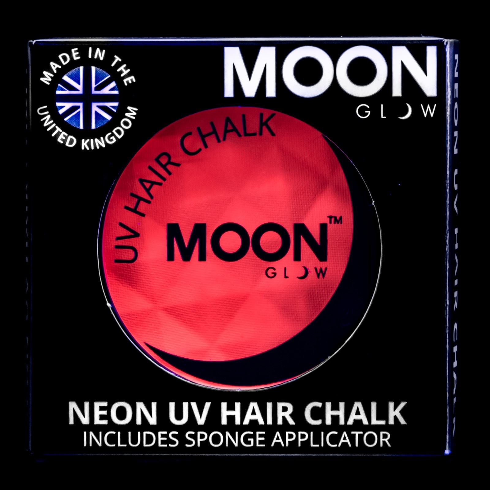 Moon Glow Neon UV Bright Shiny Hair Chalk All Colours Rave Music Festival 3.5g