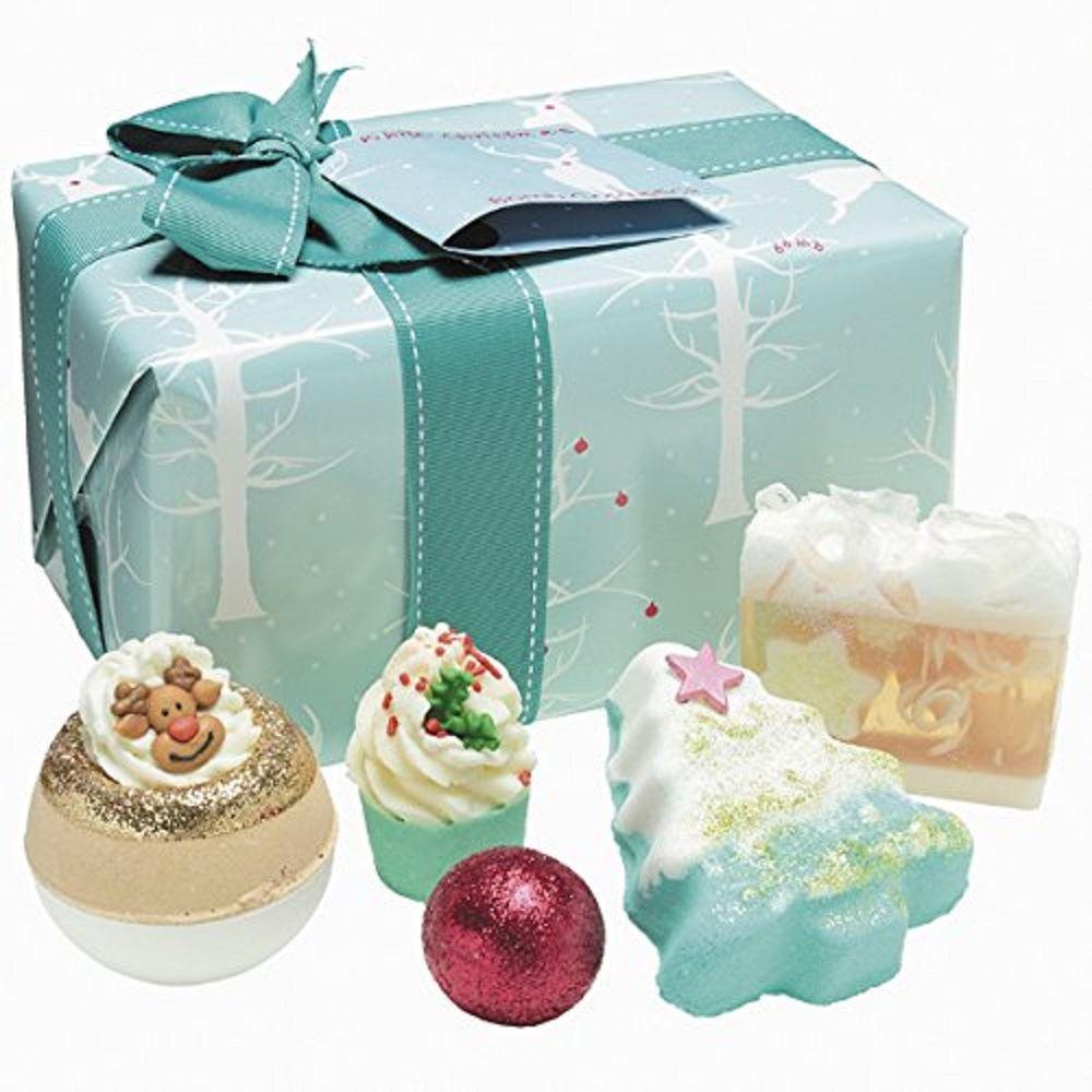 Bomb cosmetics avvolto natale regalo di natale confezione set bomba da bagno sapone fatto a mano - Bombe da bagno ebay ...