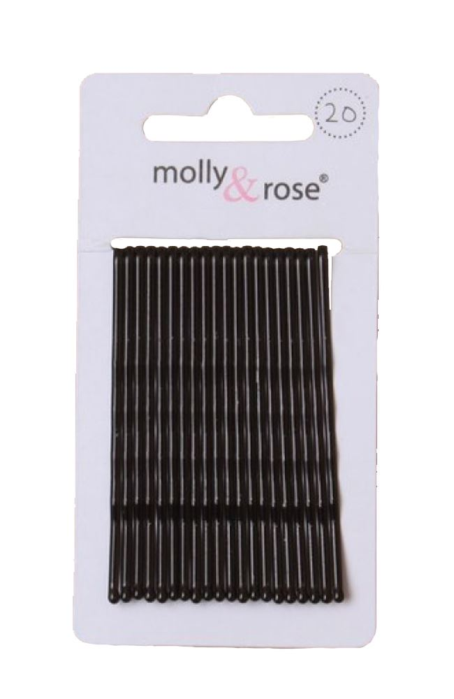 20pc-Long-6-5cm-Kirby-Grips-Hair-Bobby-Pins-Clips-Blonde-Black-Brown