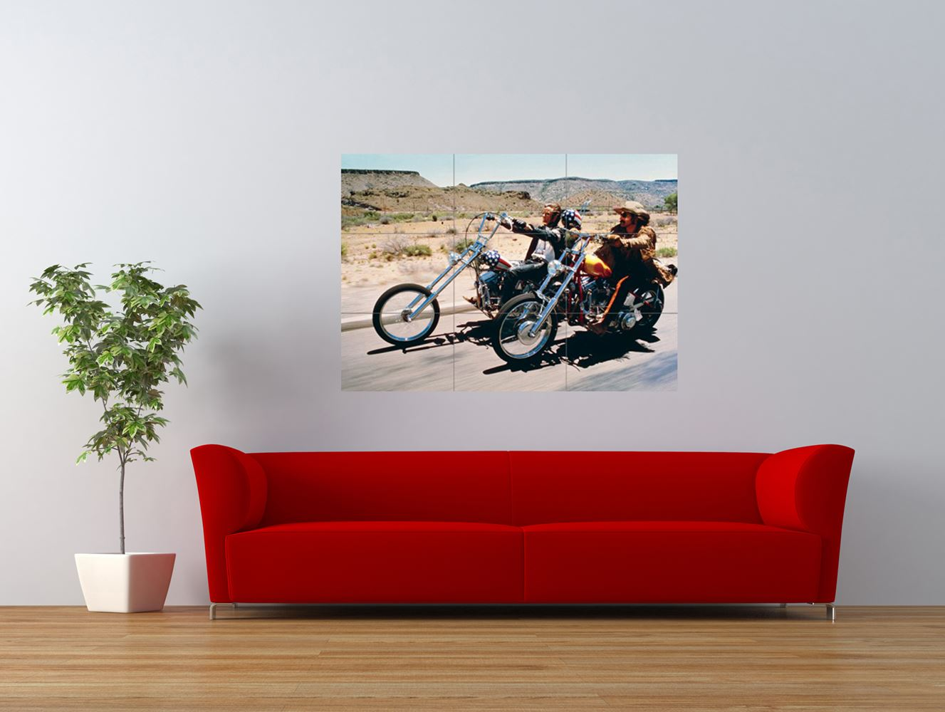 easy rider film fonda hopper lowrider bike giant art print panel poster nor0654 ebay. Black Bedroom Furniture Sets. Home Design Ideas