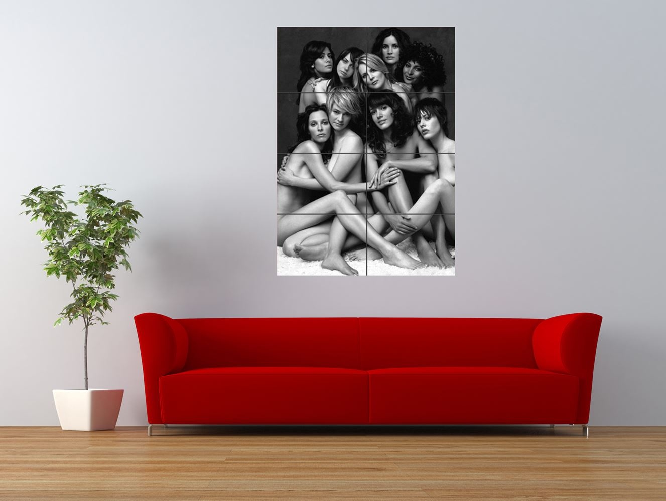 the l word lesbian television show cast giant art print panel poster nor0003 ebay. Black Bedroom Furniture Sets. Home Design Ideas
