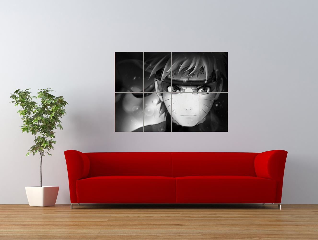 naruto anime manga character animation giant art print panel poster nor0009 ebay. Black Bedroom Furniture Sets. Home Design Ideas