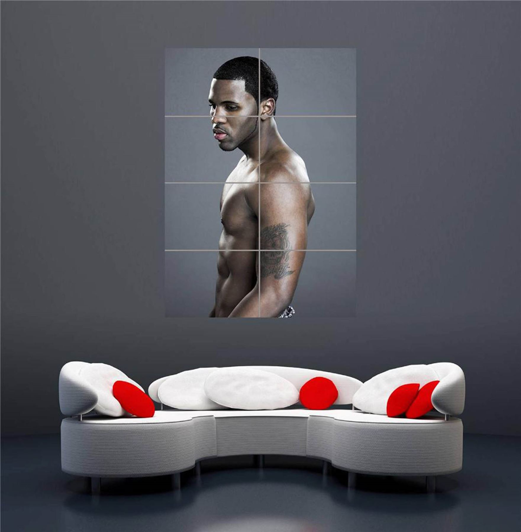 JASON-DERULO-SINGER-R-B-SONGWRITER-TOPLESS-GIANT-NEW-ART-PRINT-POSTER-OZ270