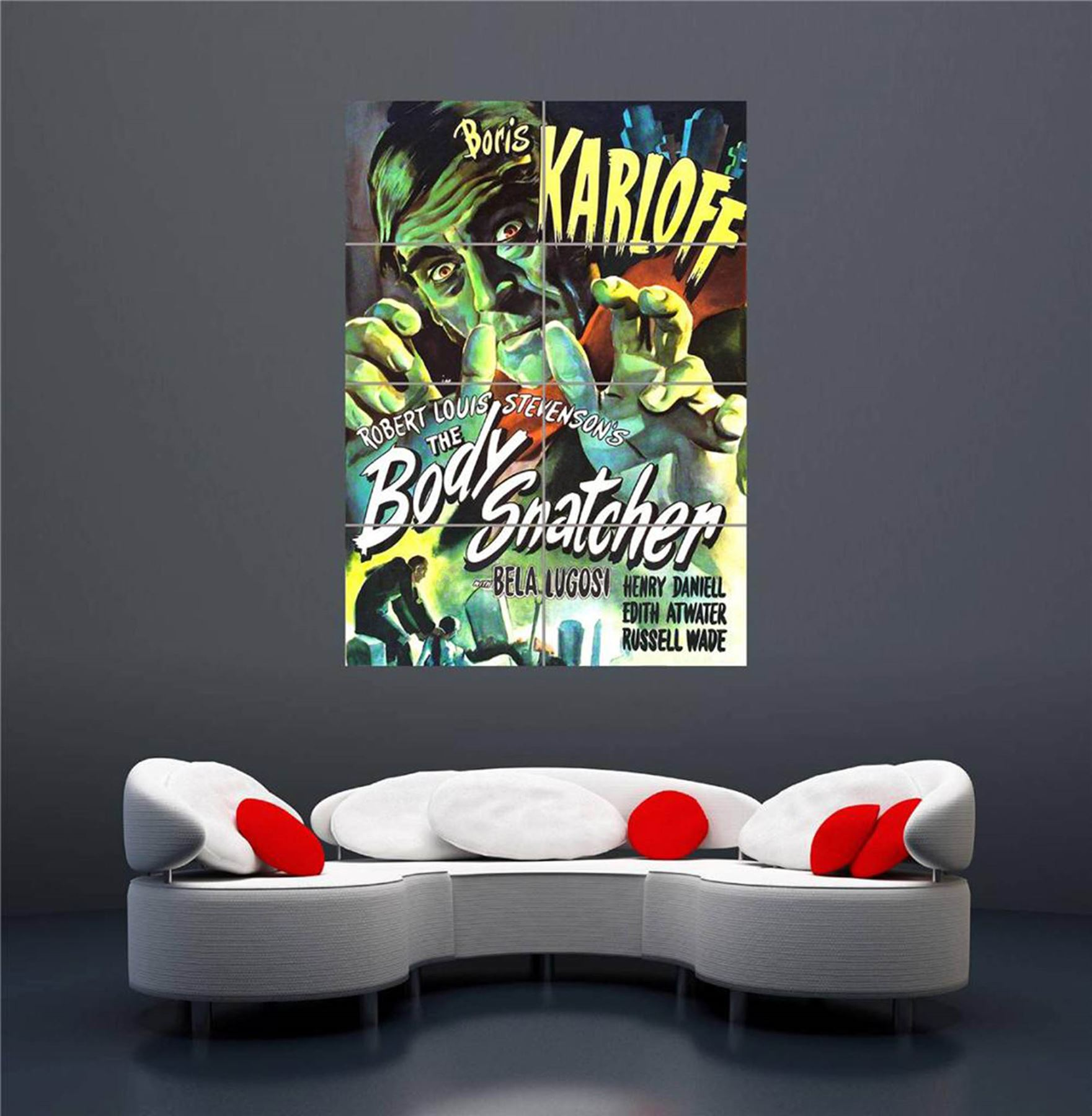 VINTAGE-OLD-MOVIE-THE-BODY-SNATCHER-NEW-GIANT-WALL-ART-PRINT-POSTER-OZ992