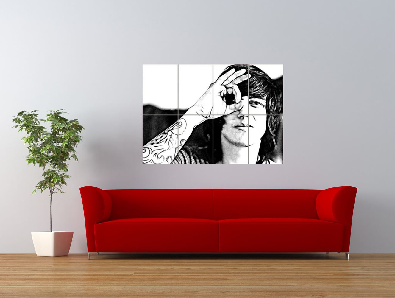 sleeping with sirens music band hardcore giant art print panel poster nor0134 ebay. Black Bedroom Furniture Sets. Home Design Ideas
