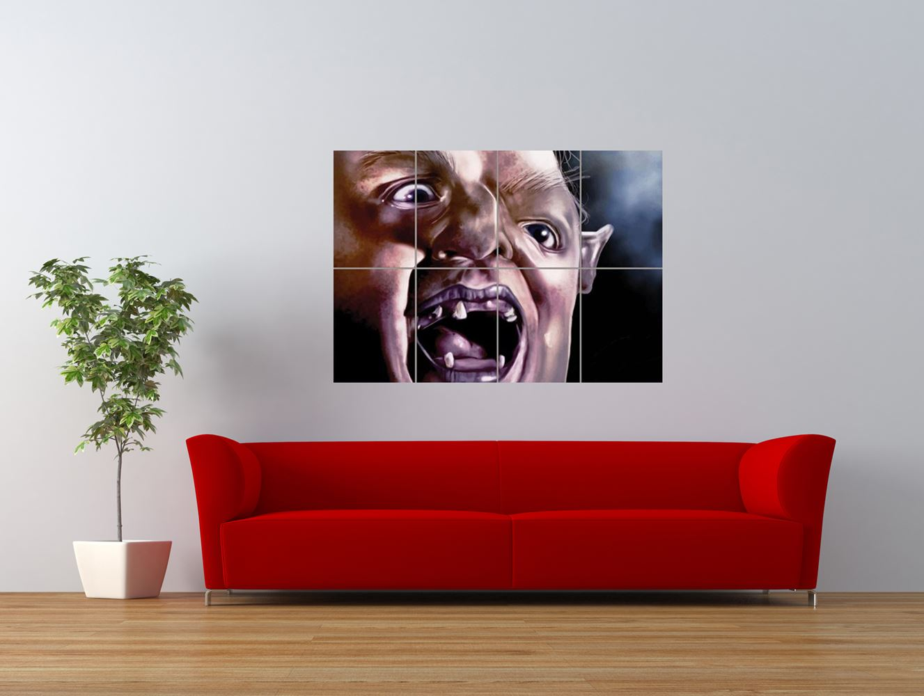 movie film character goonies sloth weird giant art print panel poster nor0201 ebay. Black Bedroom Furniture Sets. Home Design Ideas