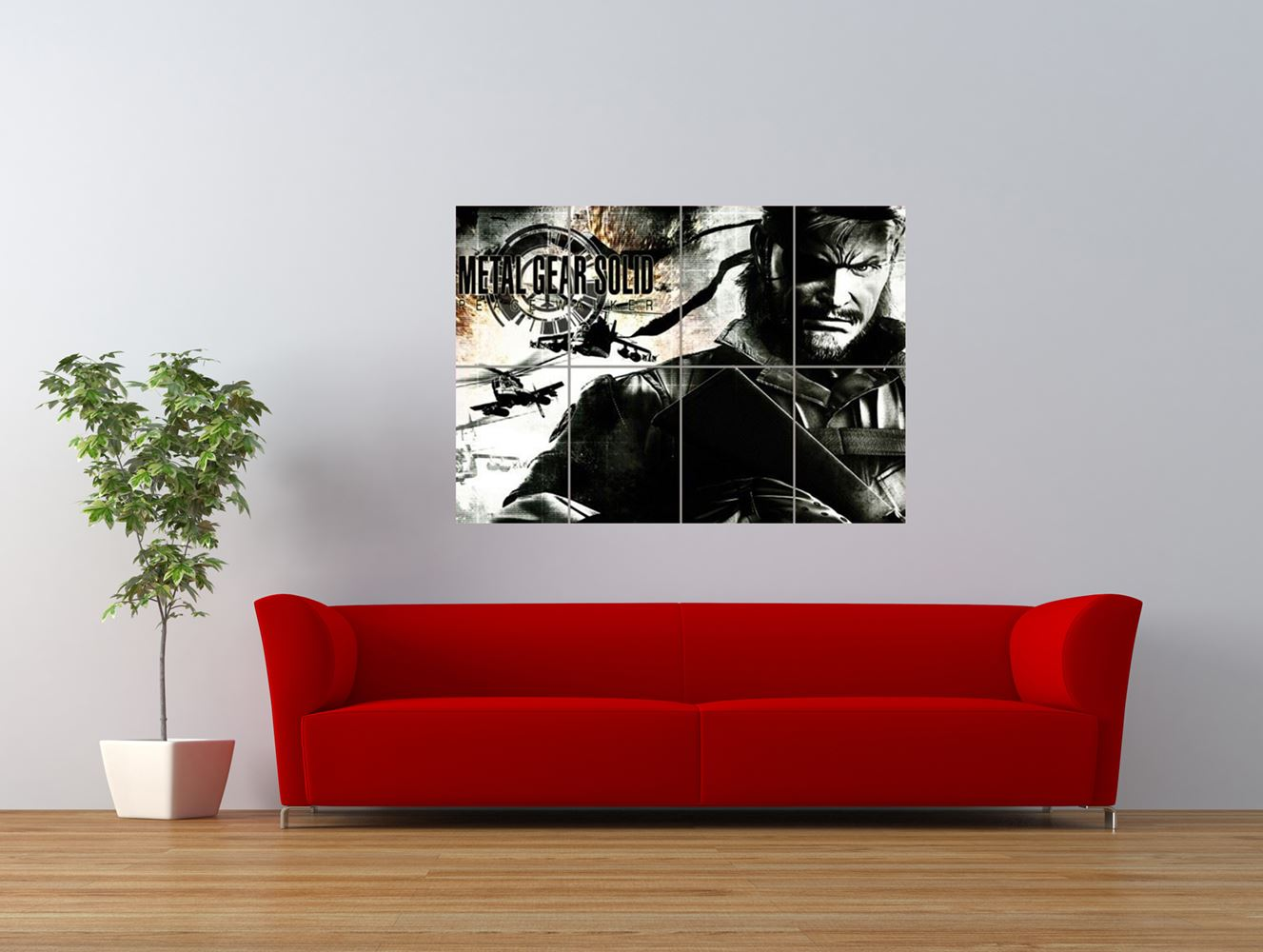 metal gear solid snake hero character giant art print panel poster nor0063 ebay. Black Bedroom Furniture Sets. Home Design Ideas