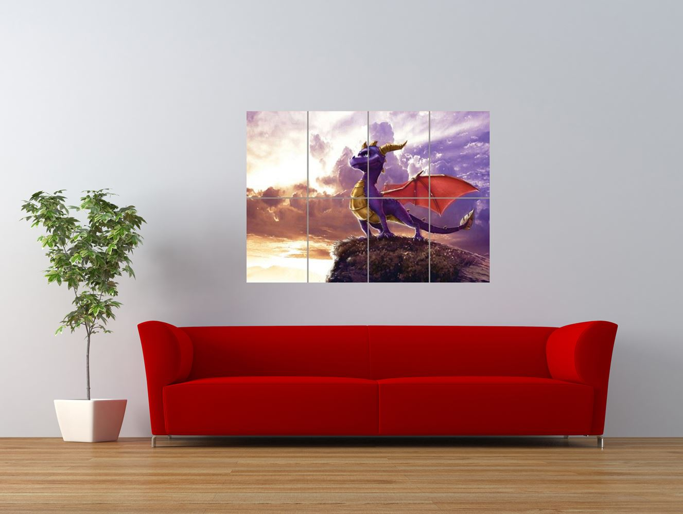 spyro the dragon xbox video game giant art print panel poster nor0048 ebay. Black Bedroom Furniture Sets. Home Design Ideas