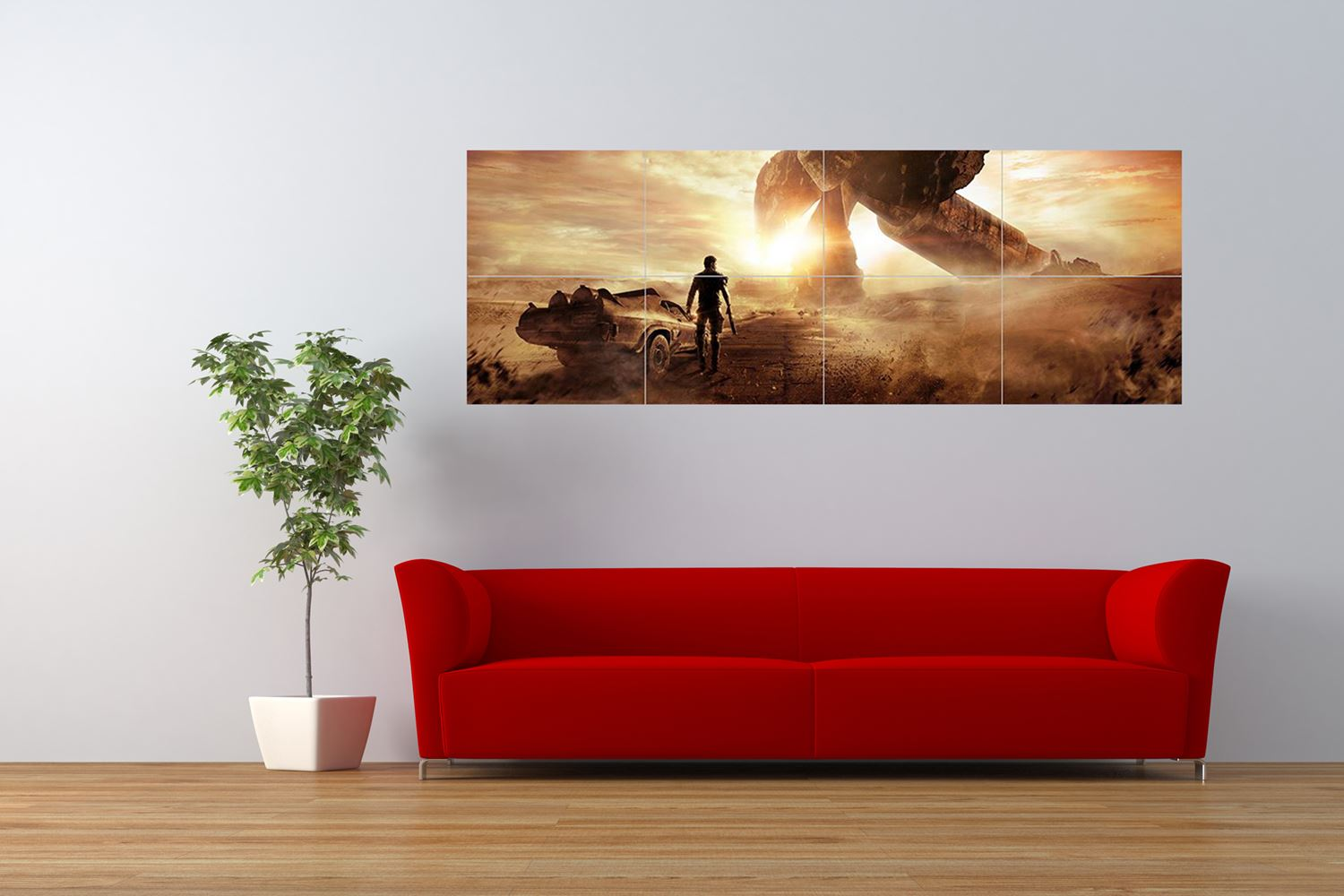 mad max movie miller mel gibson panoramic giant art print panel poster nor0271 ebay. Black Bedroom Furniture Sets. Home Design Ideas