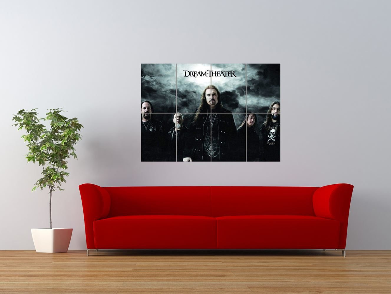 dream theater metal rock music band giant art print panel poster nor0112 ebay. Black Bedroom Furniture Sets. Home Design Ideas