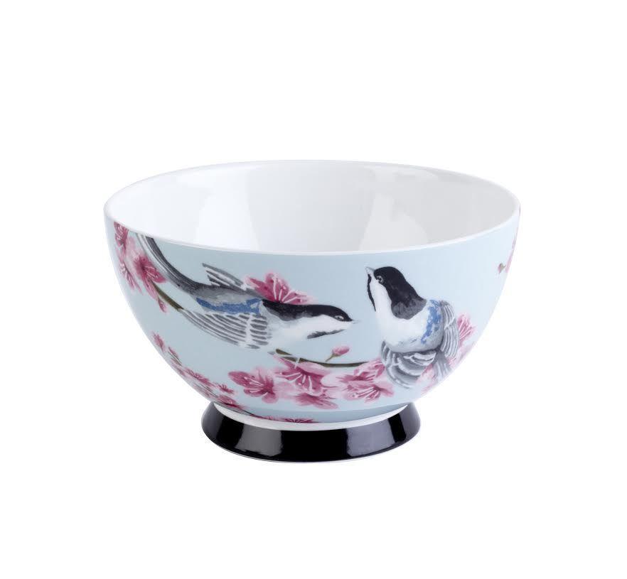Pack Of 6 Portobello Designer Bone China Mug Bowls Set