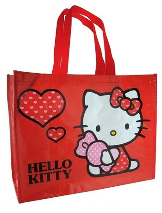 Hello kitty shopping tote bag gift for life small