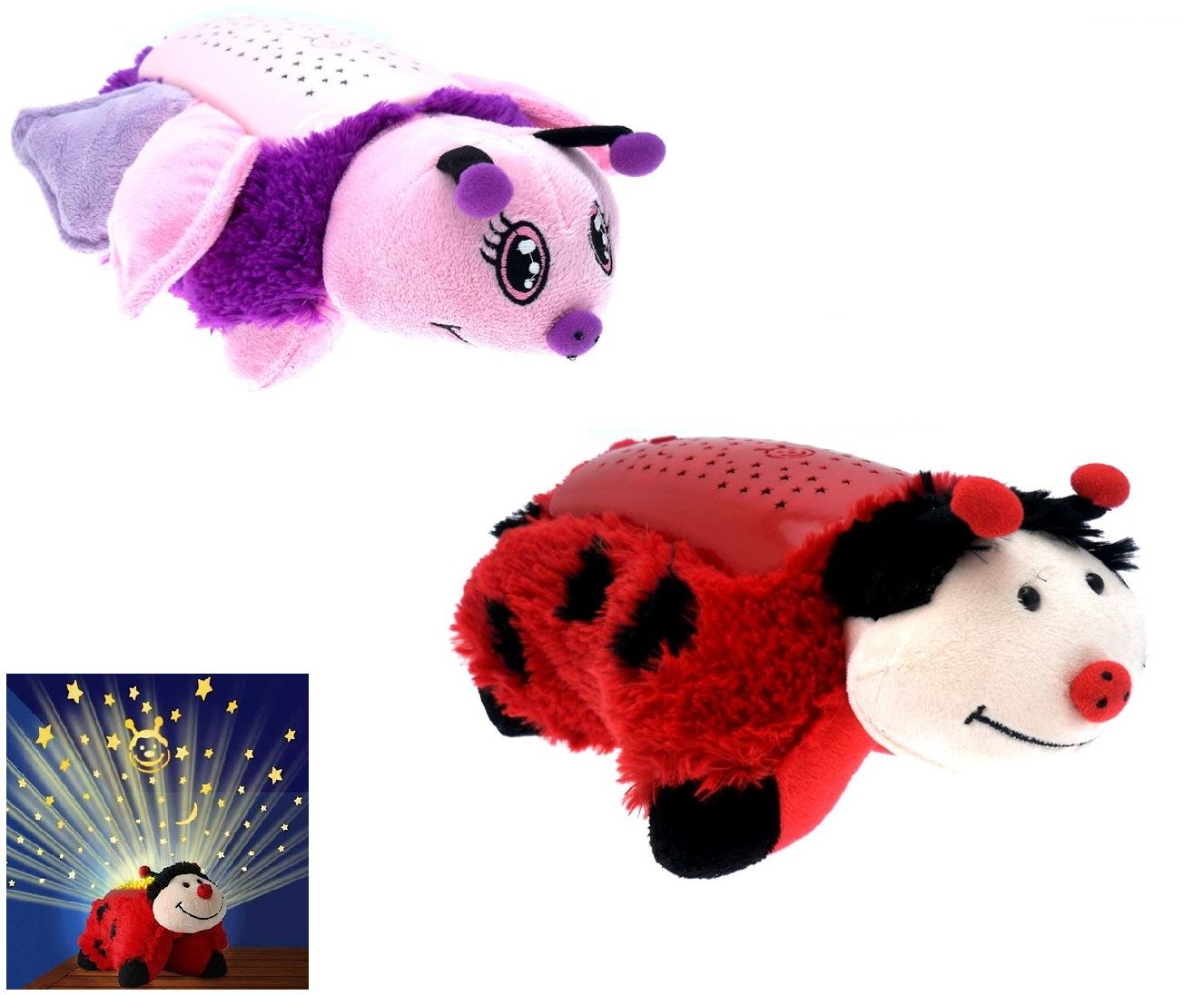 Animal Light Pillows : ANIMAL PILLOW PETS DREAM WITH NIGHT LIGHT KIDS TOY LITES PLUSH CUDDLY CUSHION eBay
