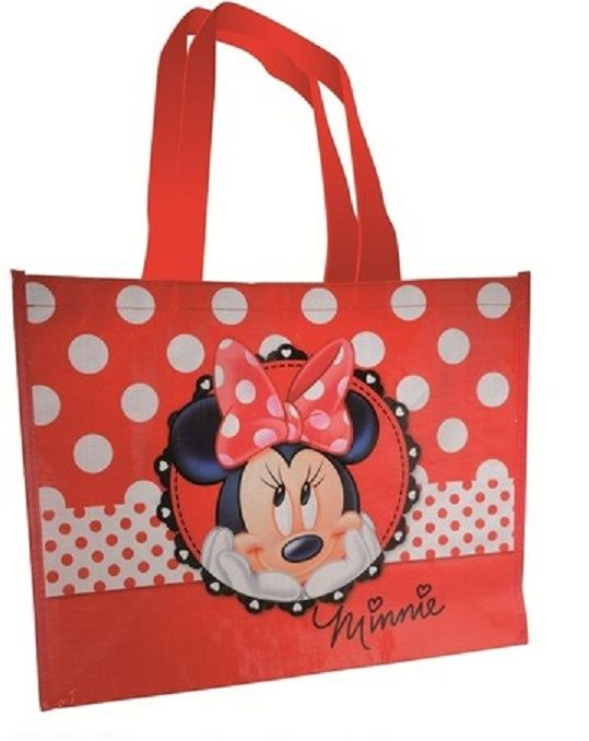 disney minnie mouse shopping tote bag gift bag for