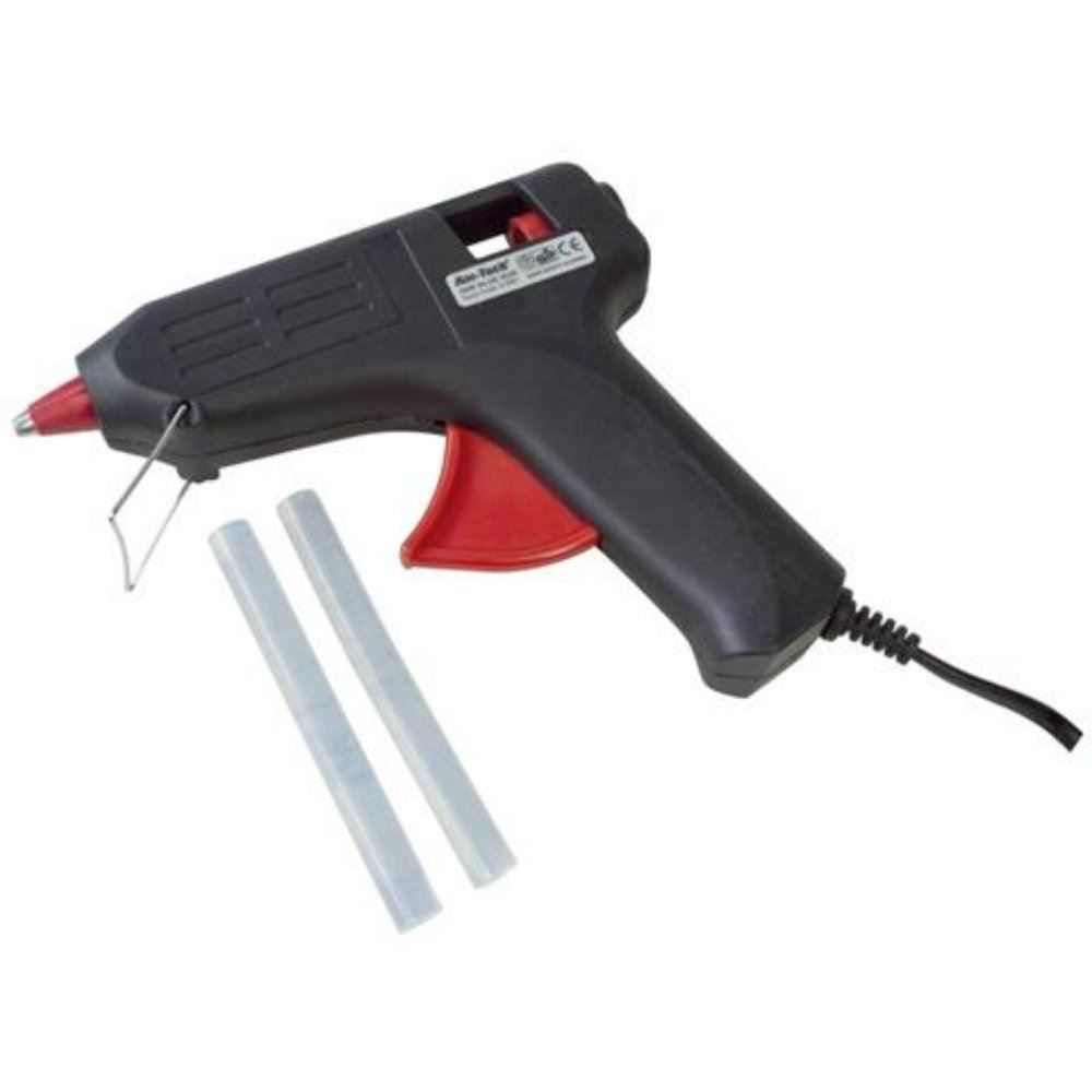40w electric hot glue gun adhesive spare glue sticks art for Glue guns for crafts