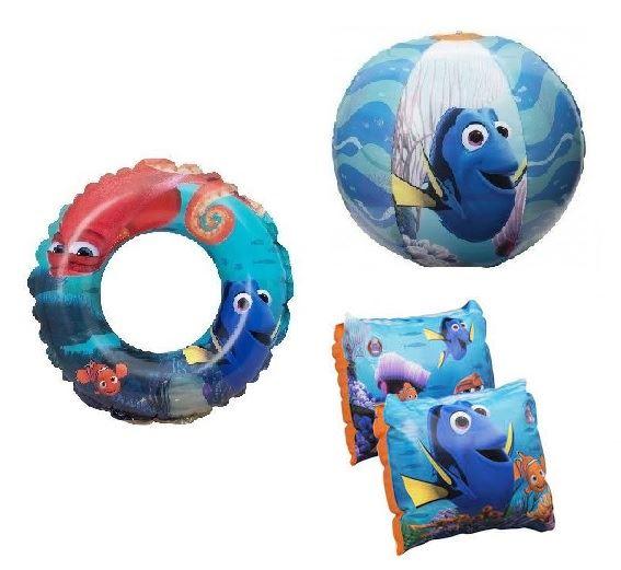 Finding Nemo Bath Towel Set: Disney Finding Dory Kids Swim Ring Beach Ball Towel