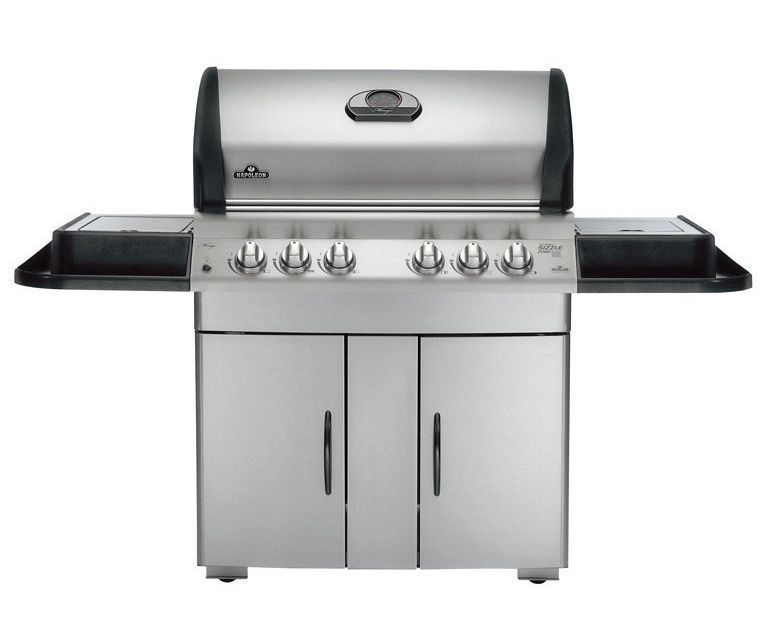 napoleon m605rsbipss 1 mirage 605 lp gas grill side burner brand new ebay. Black Bedroom Furniture Sets. Home Design Ideas