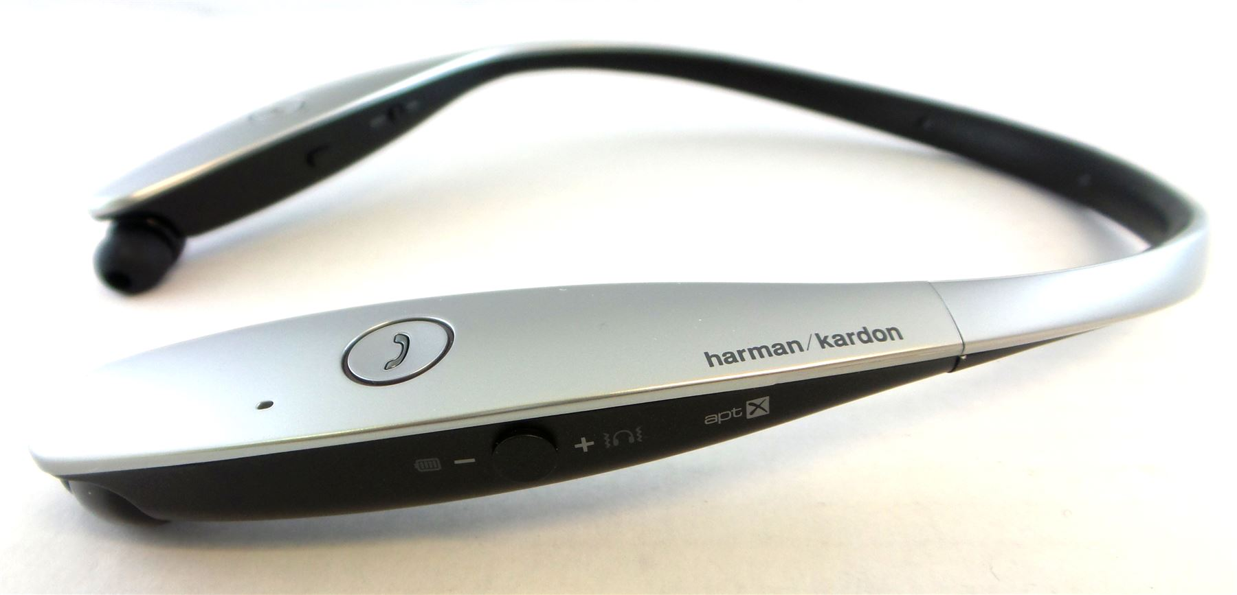 lg tone infinim hbs 900 harman kardon sound wireless bluetooth headset see desc ebay. Black Bedroom Furniture Sets. Home Design Ideas