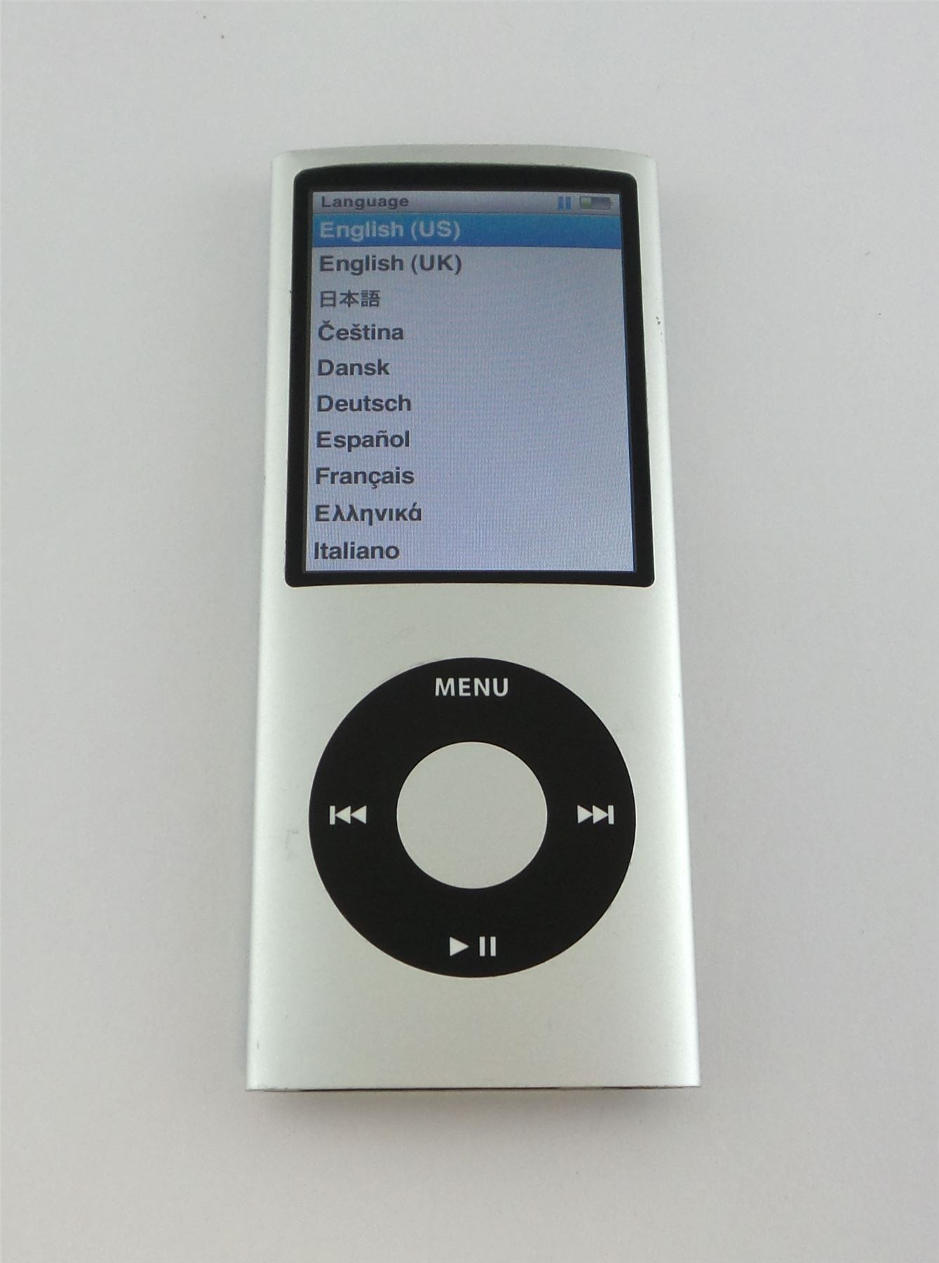 ipod nano 4th generation 8gb instructions