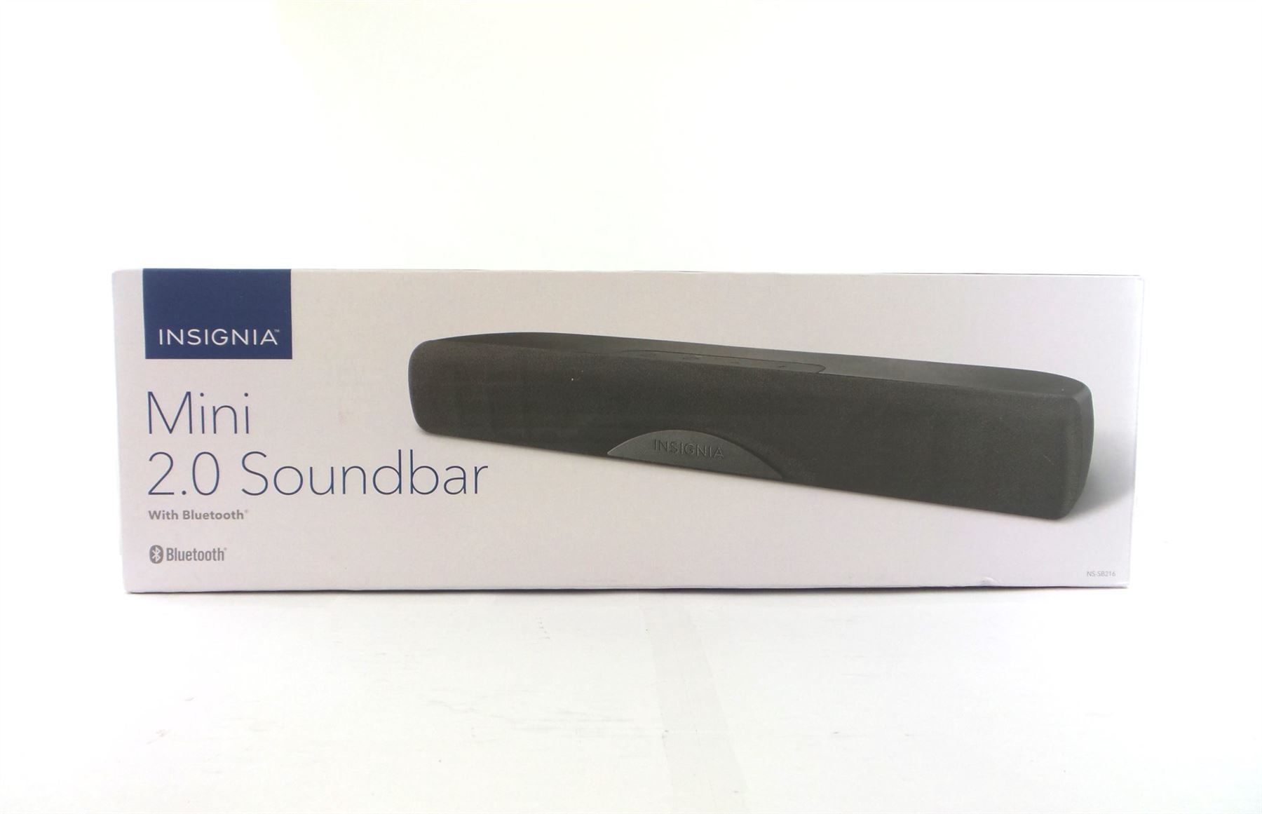 insignia mini 2.0 soundbar manual