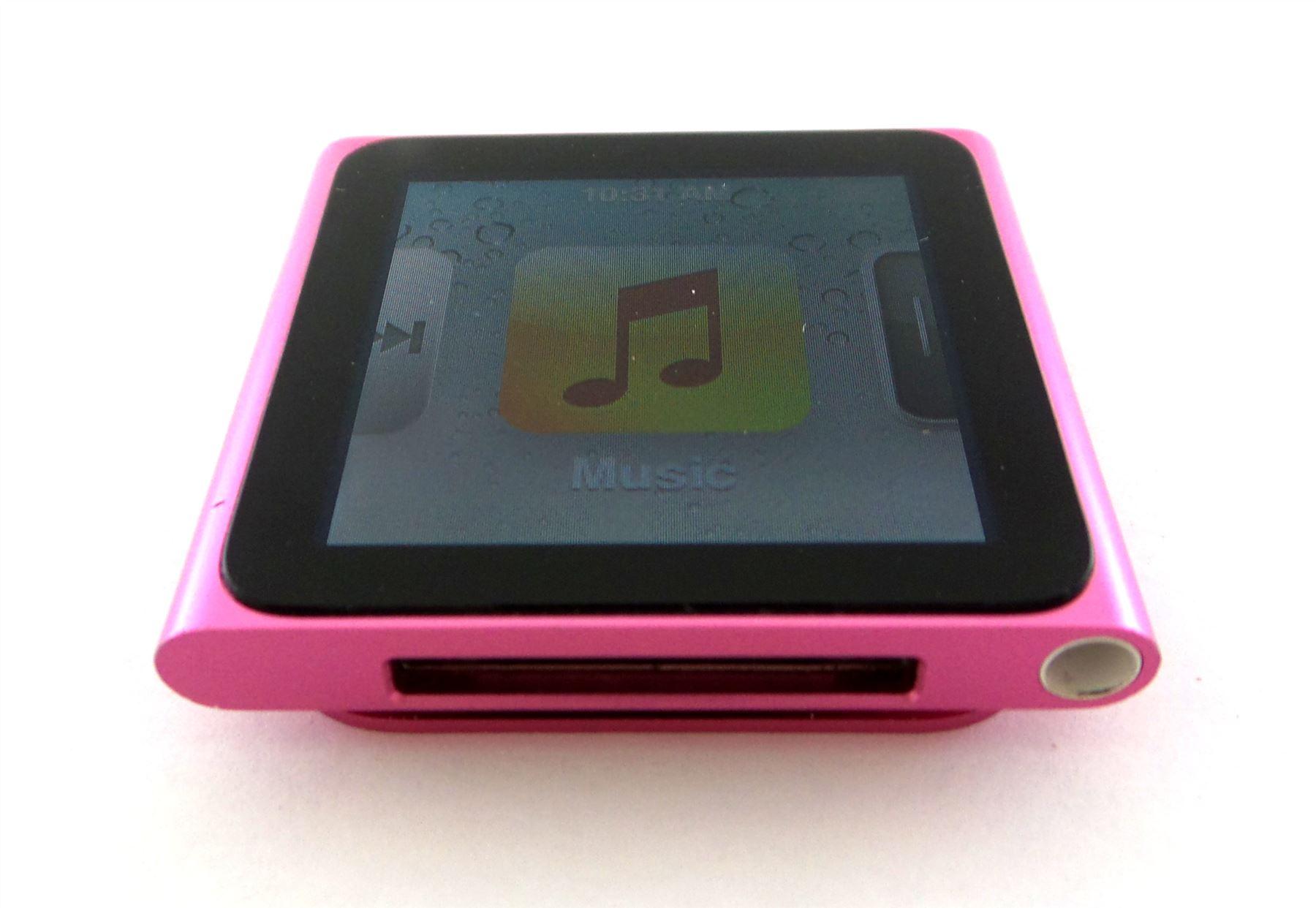 apple ipod nano 6th generation 8gb 16gb green pink silver. Black Bedroom Furniture Sets. Home Design Ideas