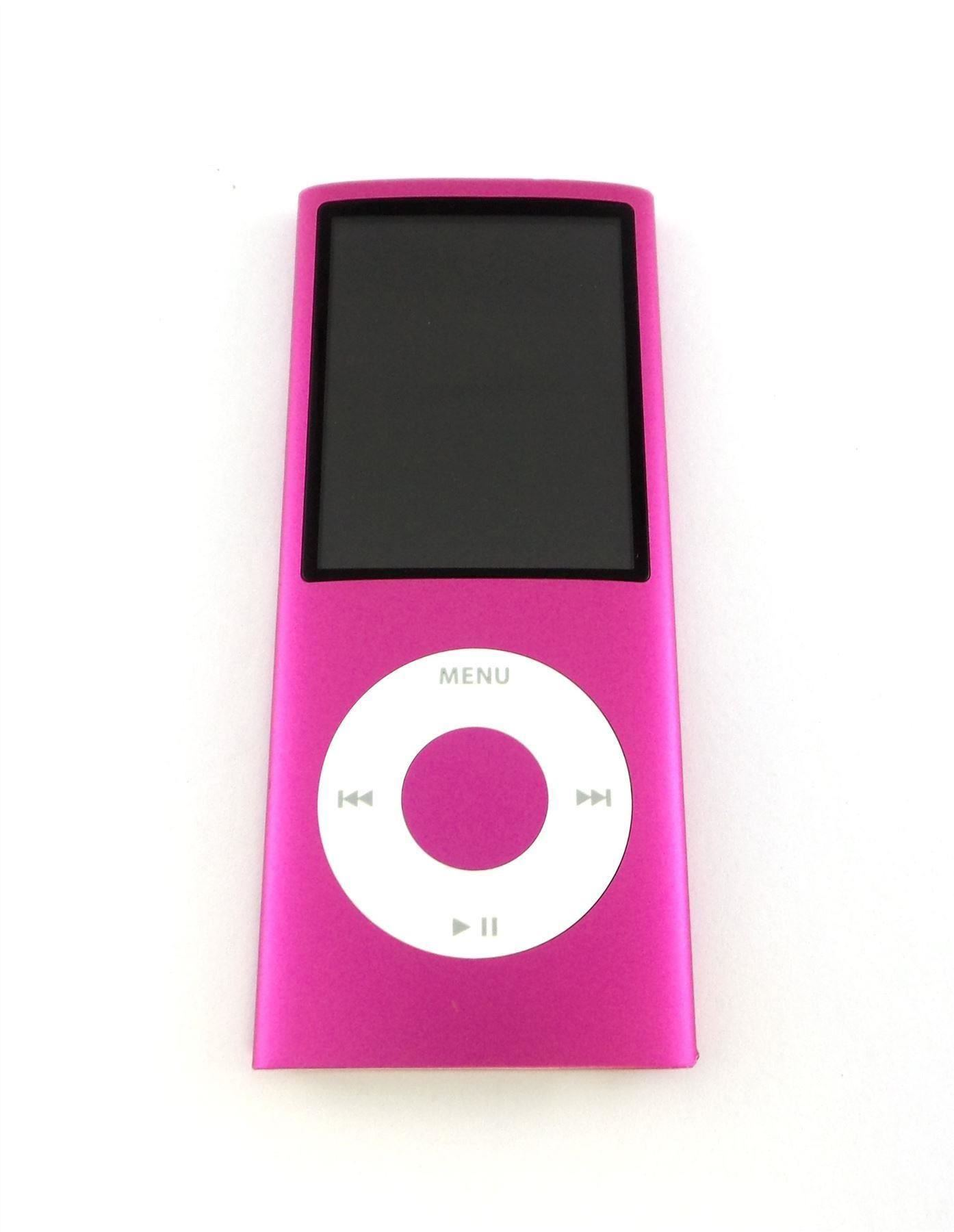 apple ipod nano 4th generation 8gb 16gb black red pink. Black Bedroom Furniture Sets. Home Design Ideas