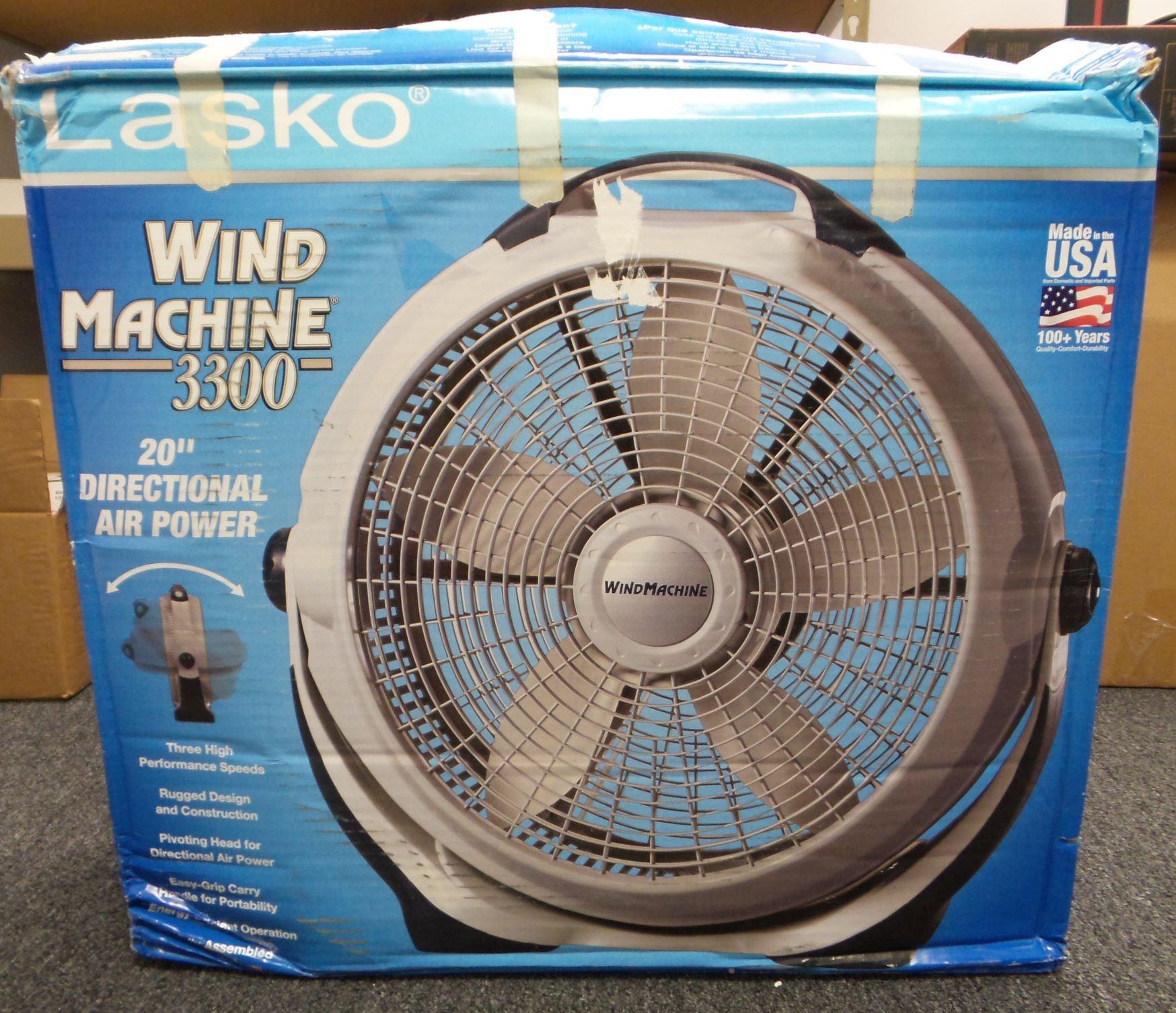 Lasko 20 Wind Machine Fan : Lasko wind machine quot floor fan speed local pickup