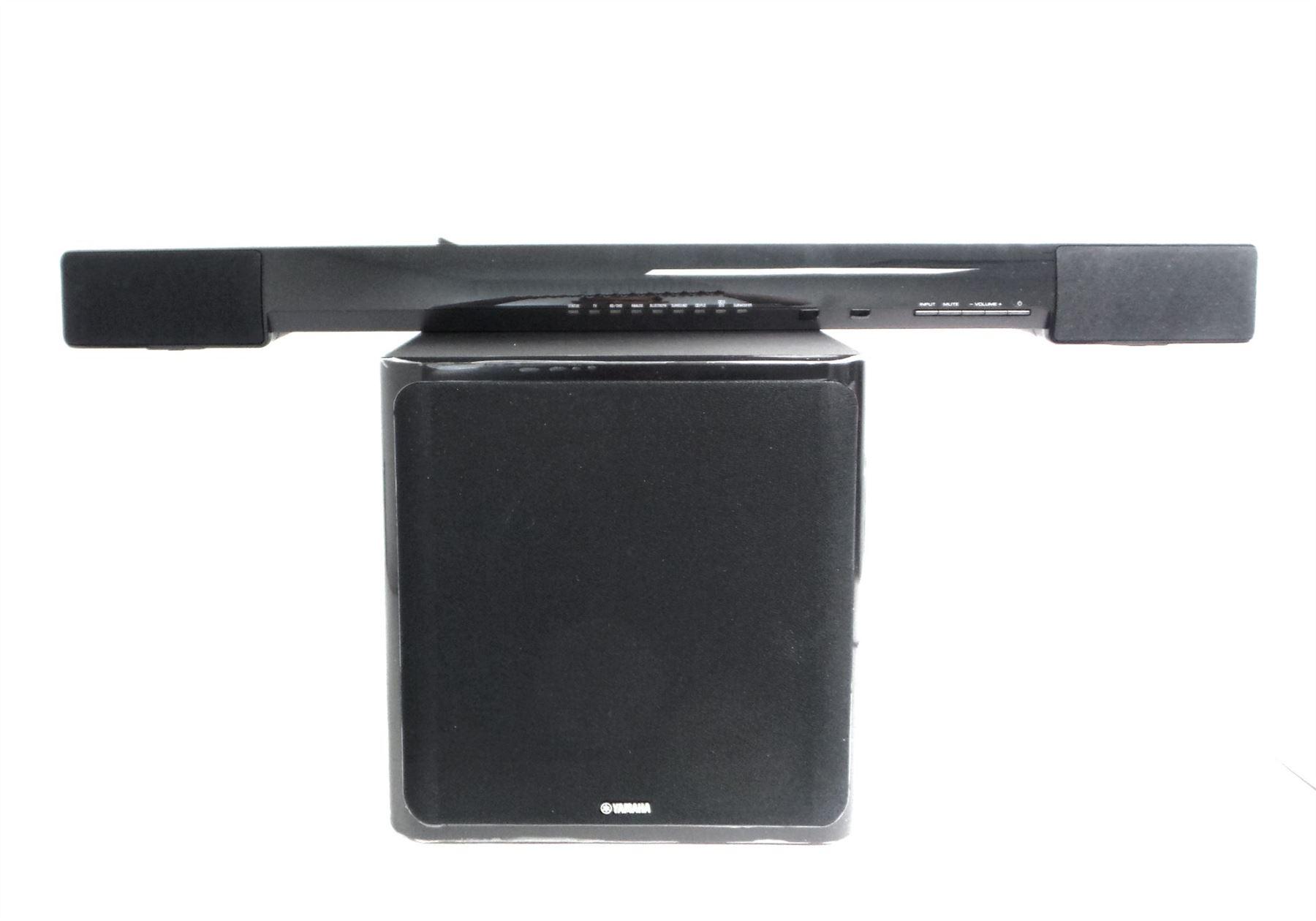 yamaha sound bar with wireless subwoofer bluetooth 2 1. Black Bedroom Furniture Sets. Home Design Ideas