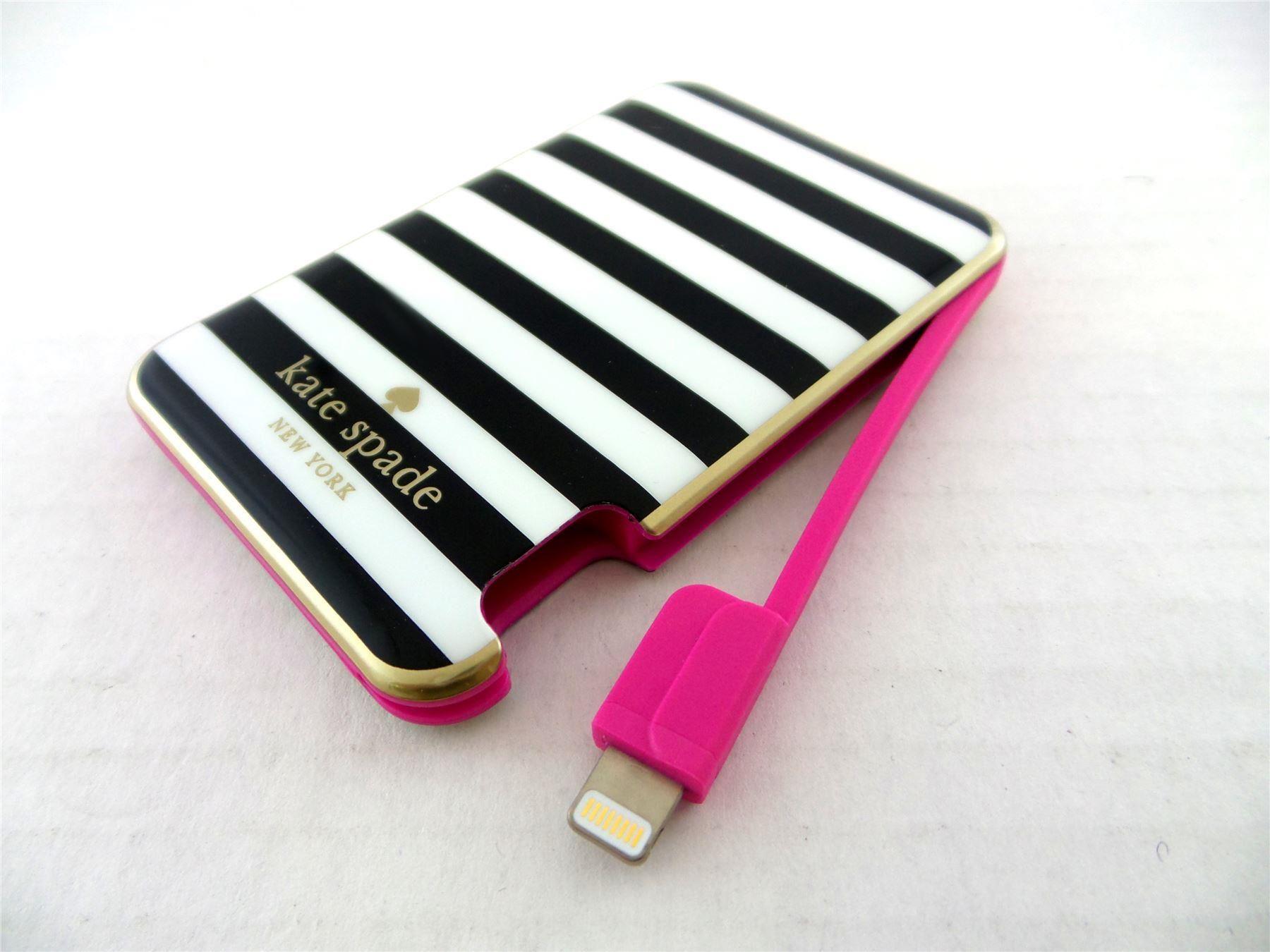 new style fbae7 065ef Подробные сведения о Kate Spade Slim портативное зарядное устройство для  iPod & iPhone KSPW - ...