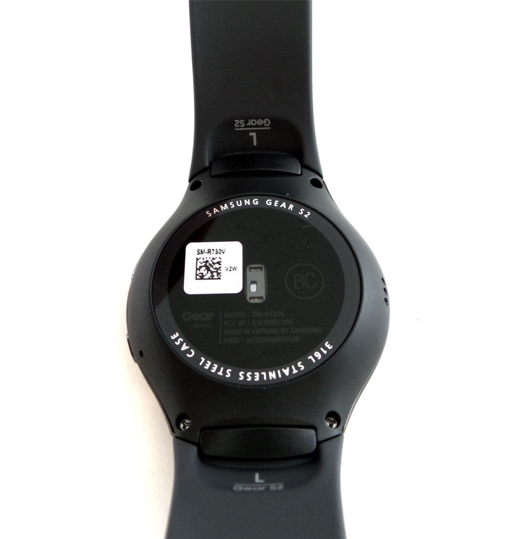 Samsung Gear S2 Smartwatch Black/Gray Large Band Verizon ...