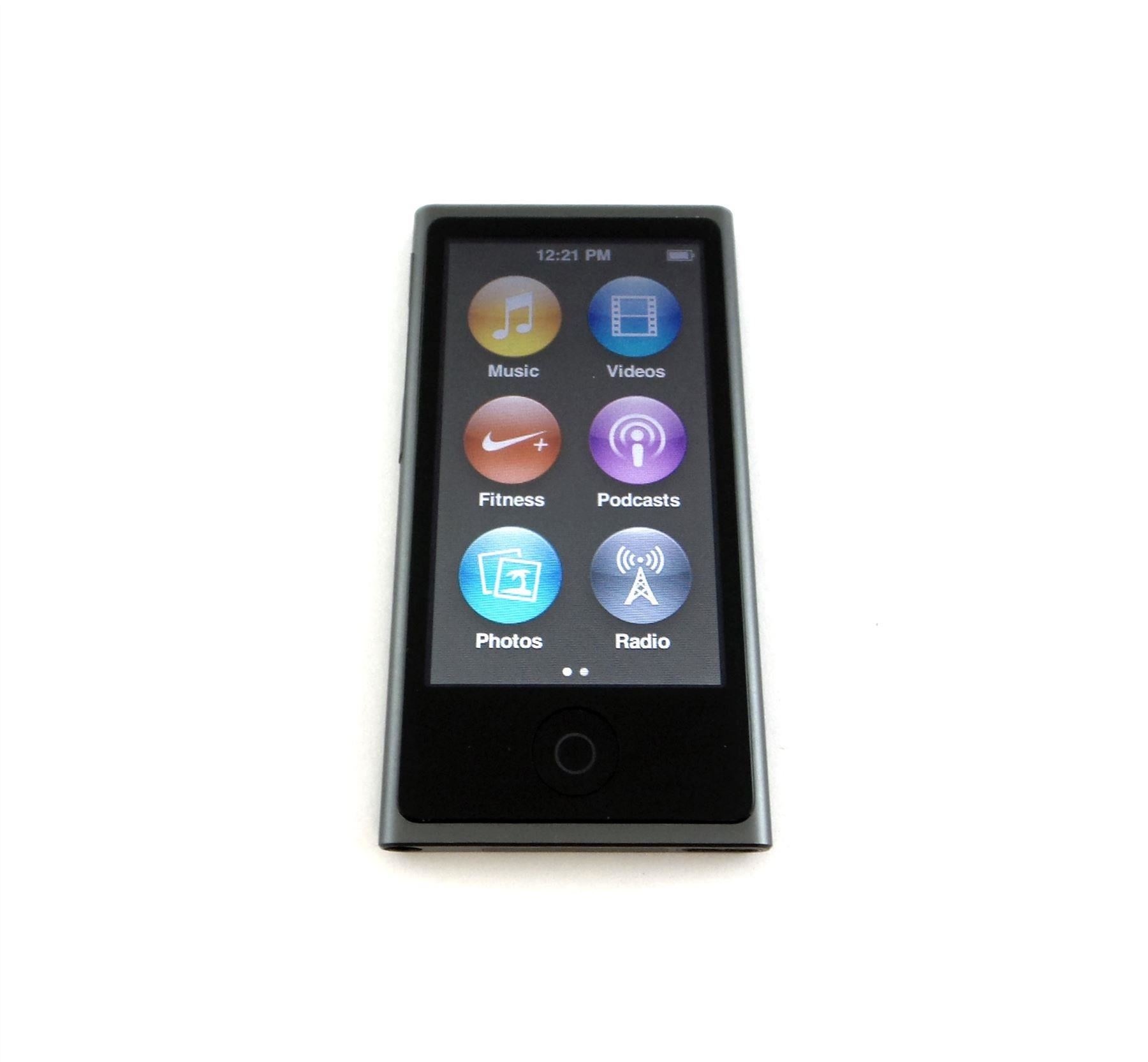 apple ipod nano 7th generation 16gb blue green pink silver. Black Bedroom Furniture Sets. Home Design Ideas