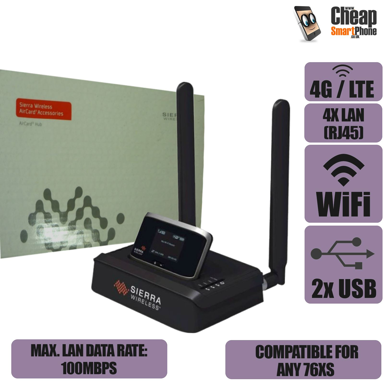 sierra wireless aircard hub manual