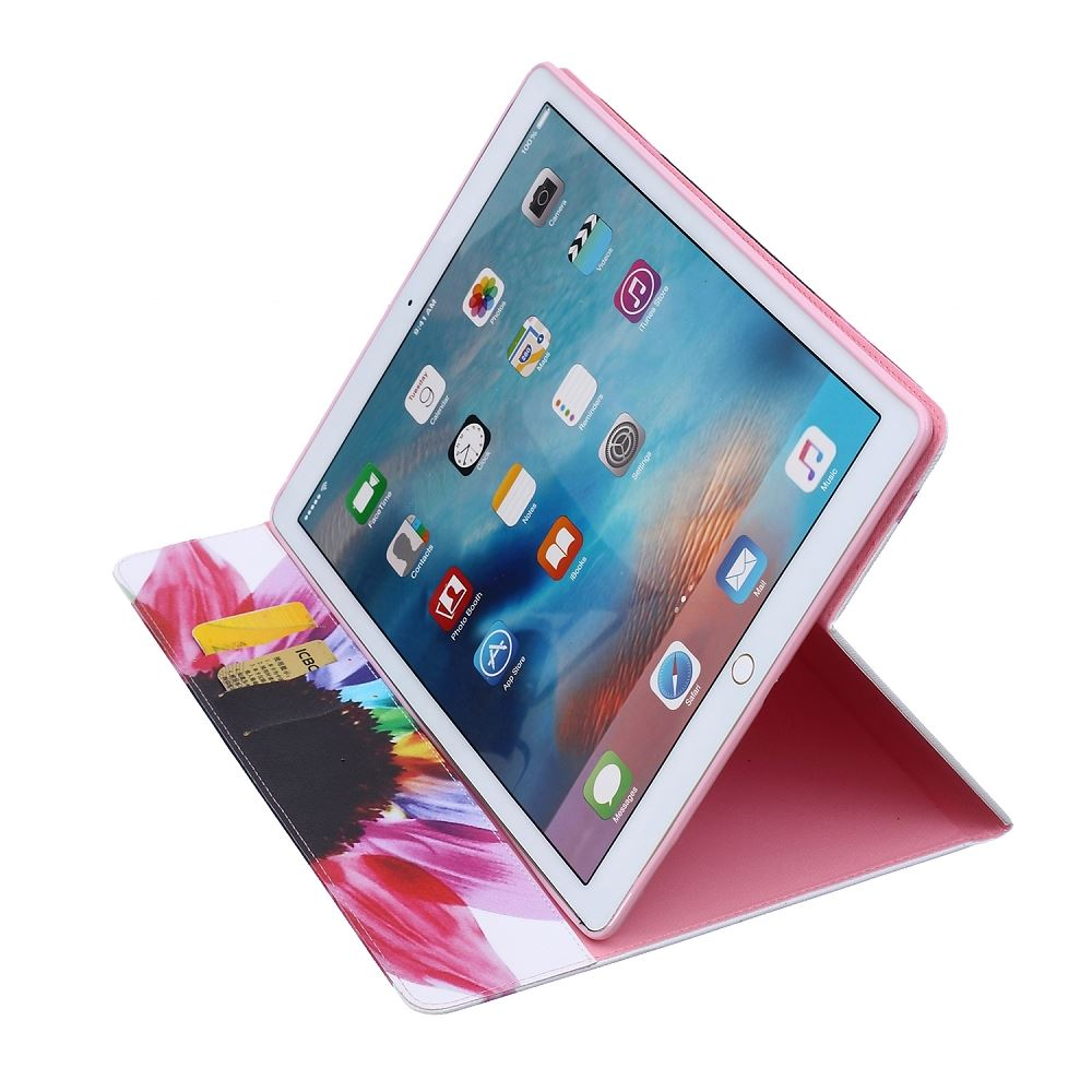 case for new apple ipad pro 12 9 inch or 9 7 inch wallet cover folding stand ebay. Black Bedroom Furniture Sets. Home Design Ideas