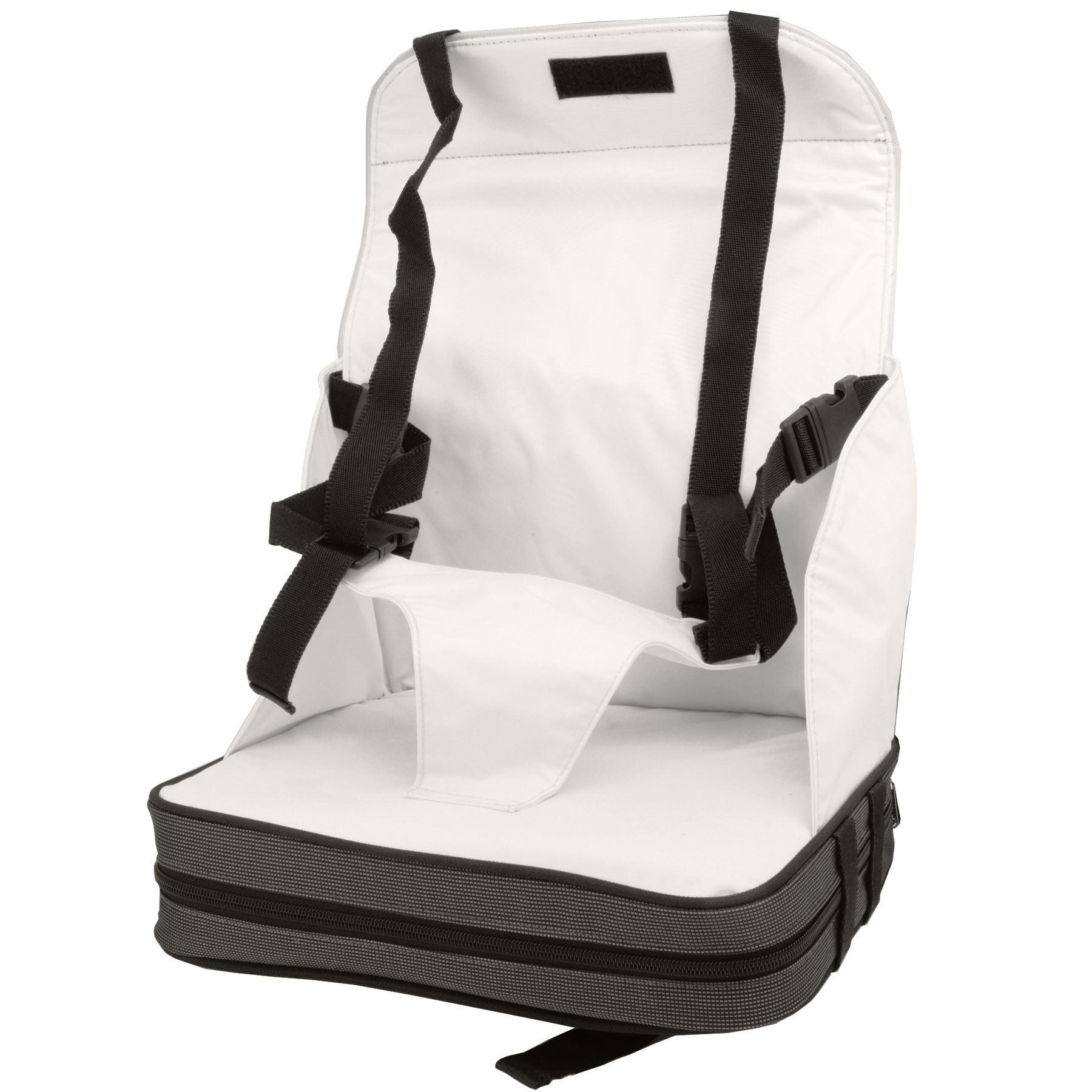 babyhugs portable pour b b pliable chaise salle manger sur le go booster seat ebay. Black Bedroom Furniture Sets. Home Design Ideas