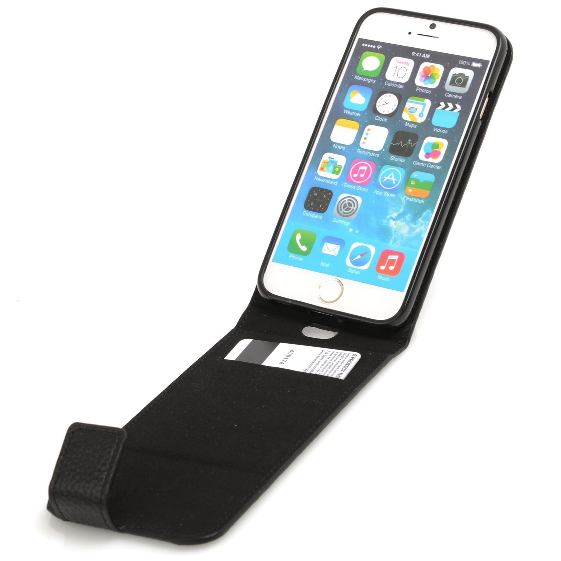 madcase 100 real cowhide leather flip wallet case for new. Black Bedroom Furniture Sets. Home Design Ideas