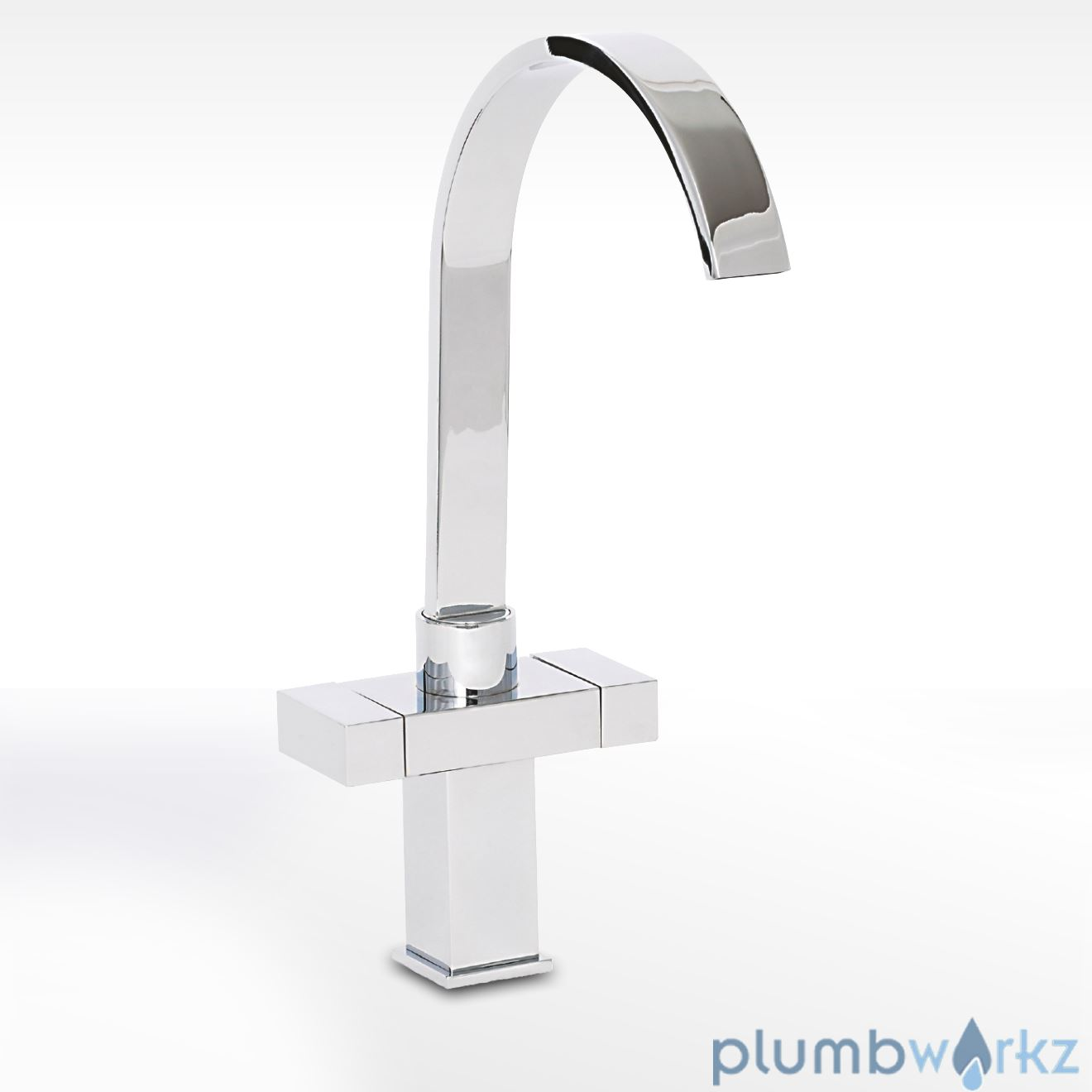 Kitchen tap modern chrome swivel spout pull out sink for Modern kitchen taps