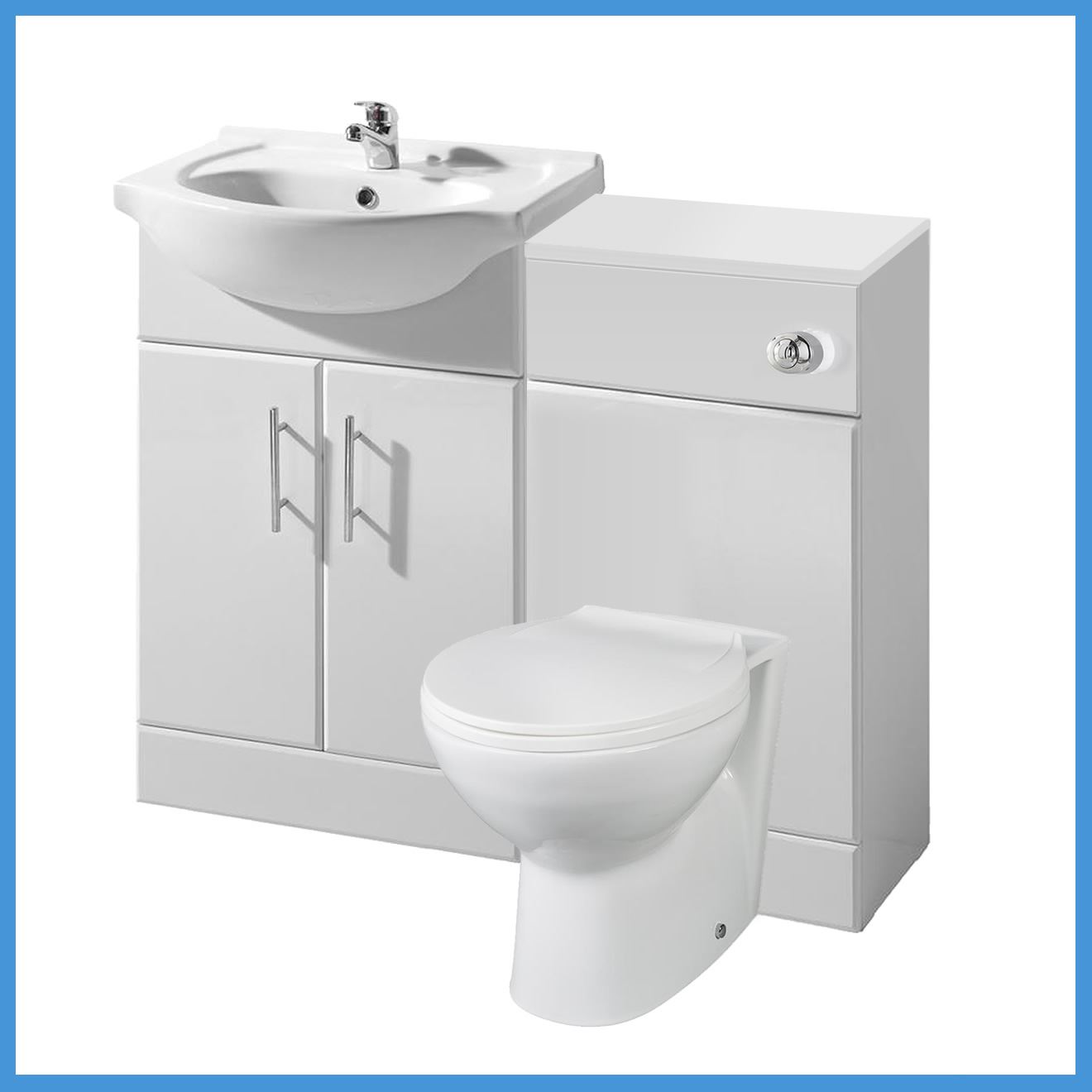 L shaped bathroom suite 1700 bath 550 vanity unit btw for Bathroom l shaped vanities