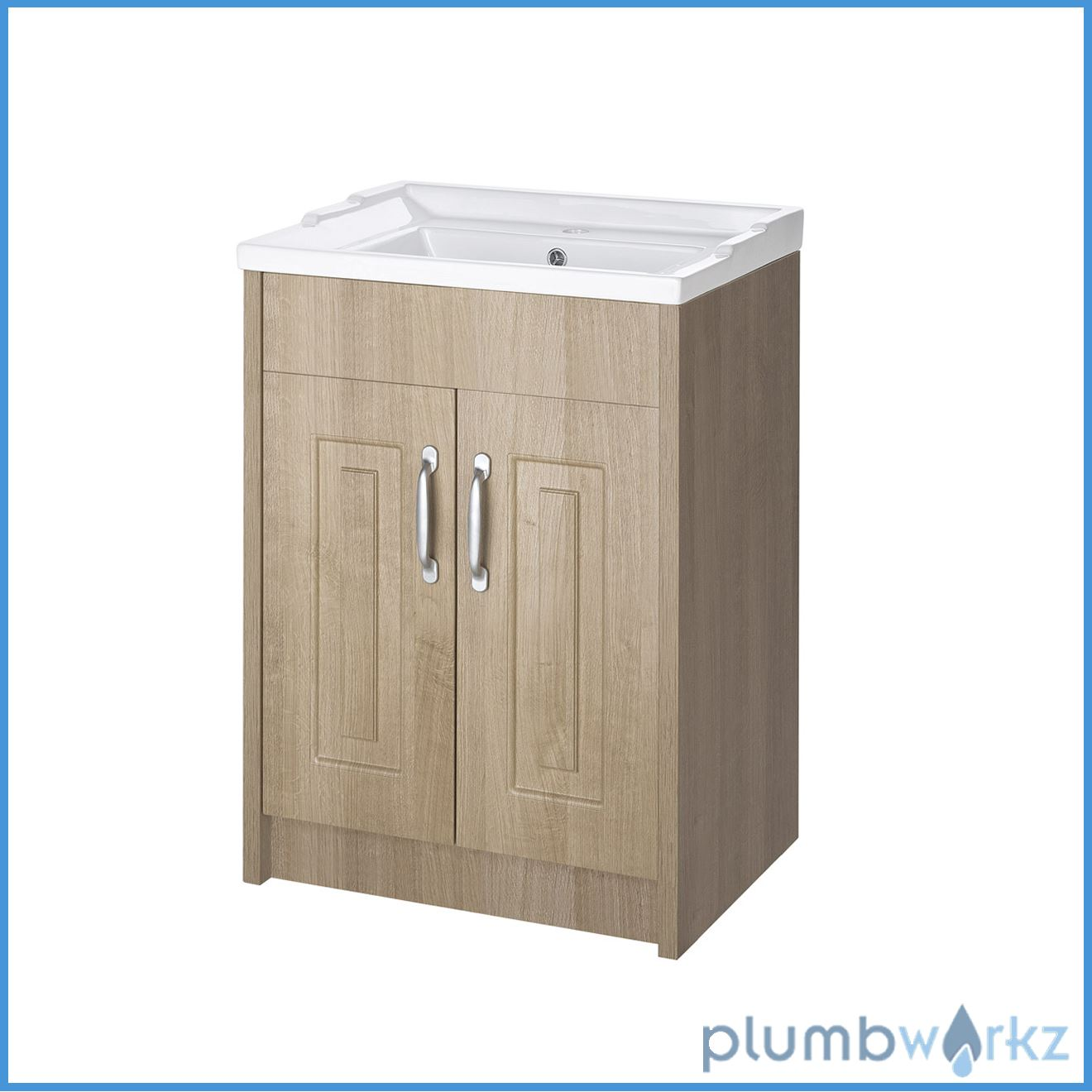 traditional back to wall btw wc pan toilet cabinet basin vanity unit ebay. Black Bedroom Furniture Sets. Home Design Ideas