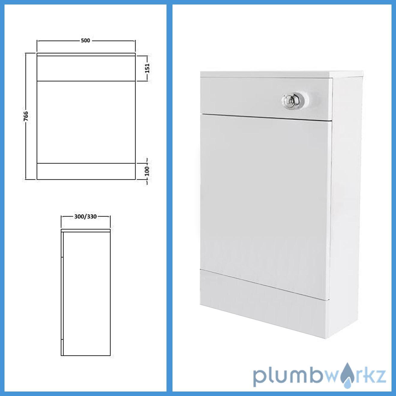 bathroom furniture suite vanity unit cabinet toilet basin back to wall wc unit ebay. Black Bedroom Furniture Sets. Home Design Ideas