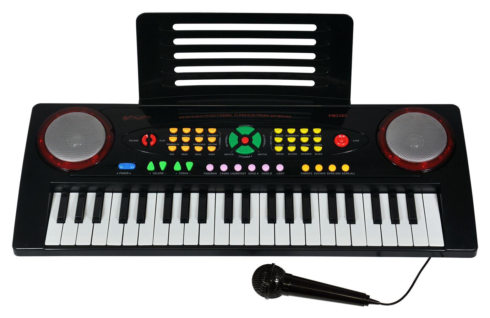 free post digital piano keyboard kids electric piano teaching electronic ebay. Black Bedroom Furniture Sets. Home Design Ideas