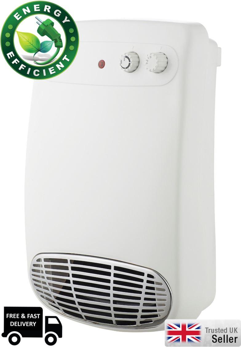 Futura 2KW Wall Mounted Downflow Bathroom Fan Heater EBay