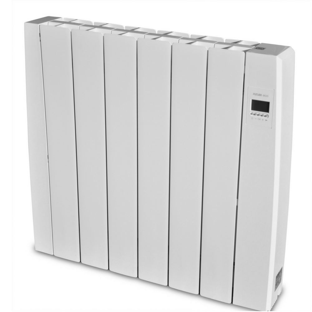 Wall Mount Heater With Thermostat : Kw electric ceramic radiator wall mounted heater