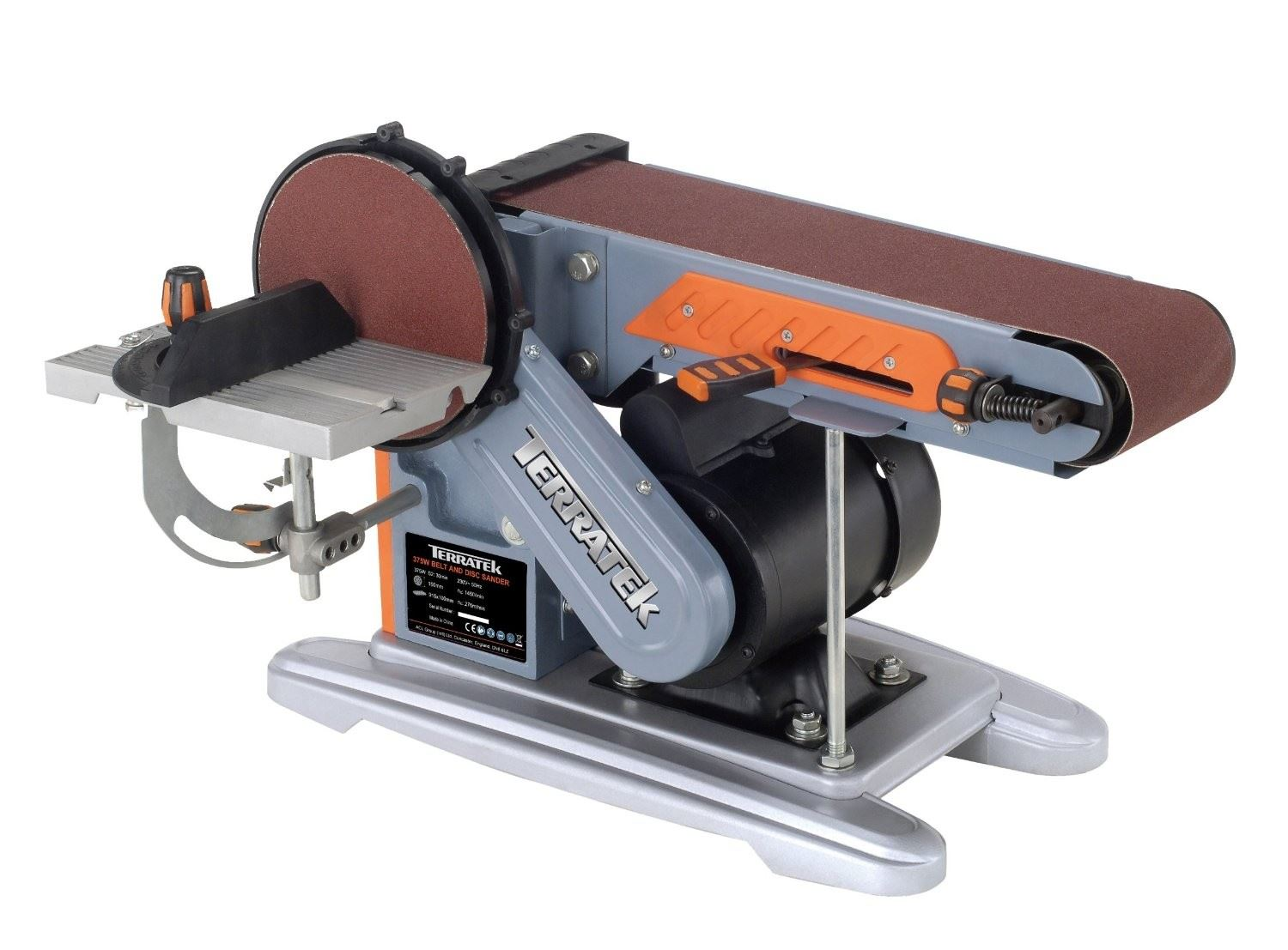 375w belt sander bench sander electric sander belt and disc sander ebay Bench belt sander