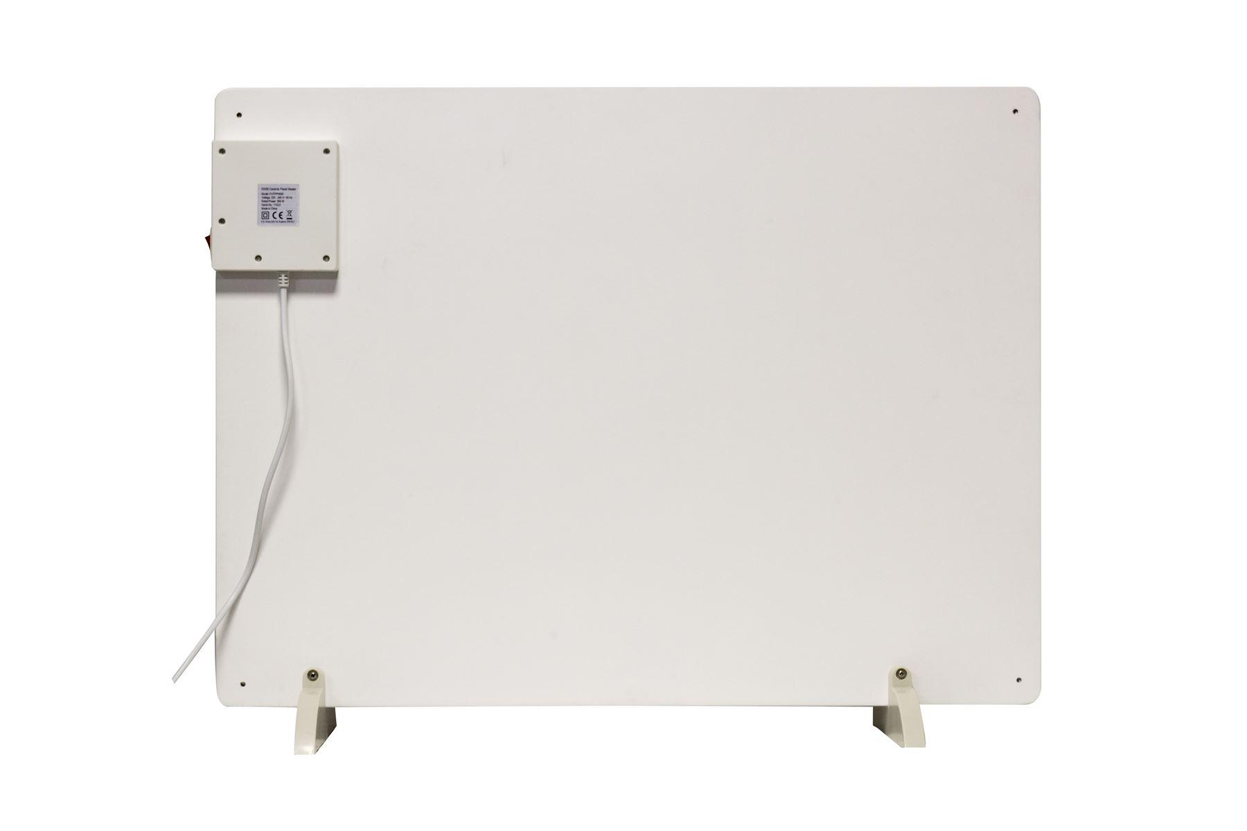 Futura 550W Ceramic Paintable ECO Panel Heater & 24Hr Timer | eBay