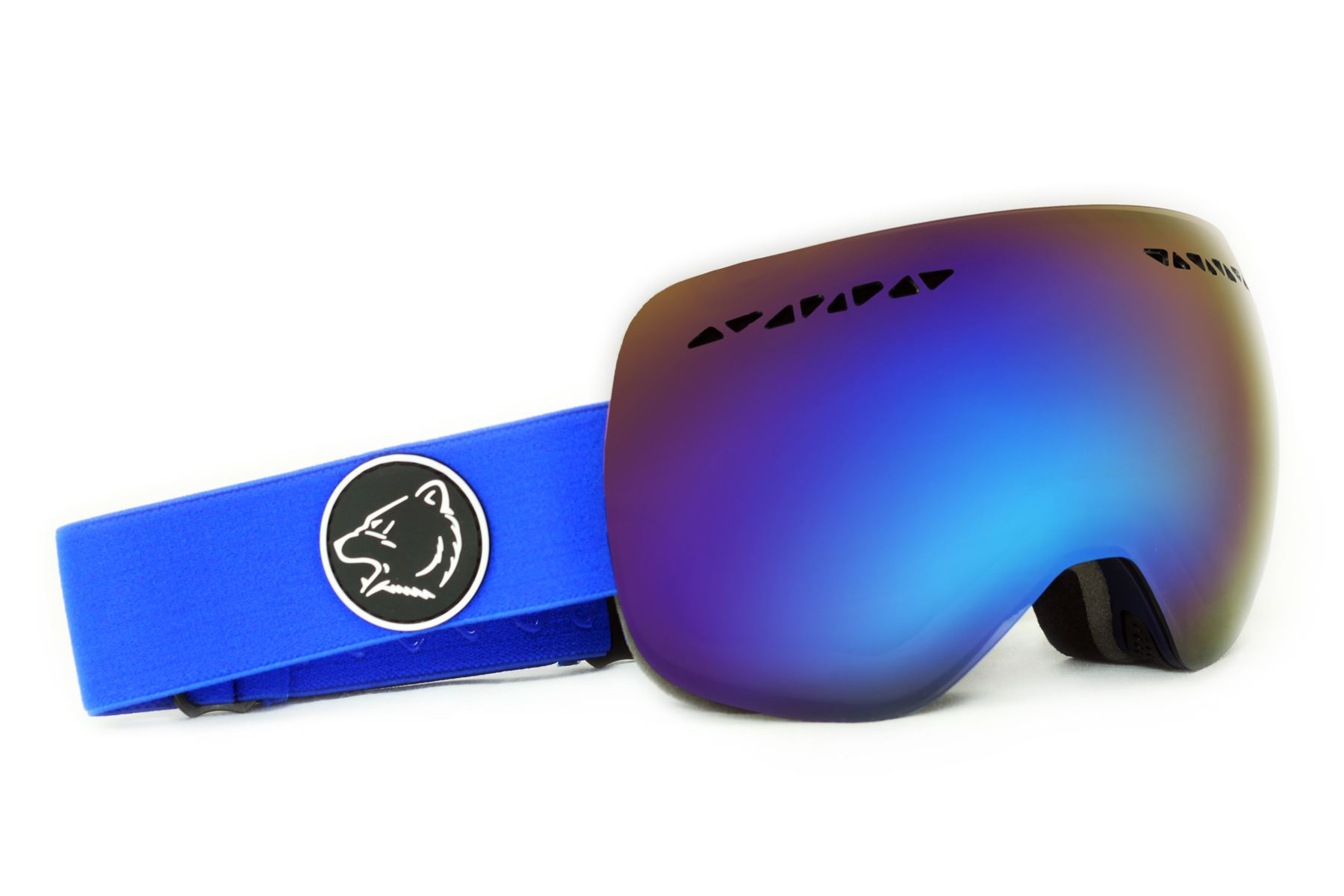 Bearz TM Ski Snowboard Frameless Snow Goggles Anti-Fog Two Lenses Various Colour