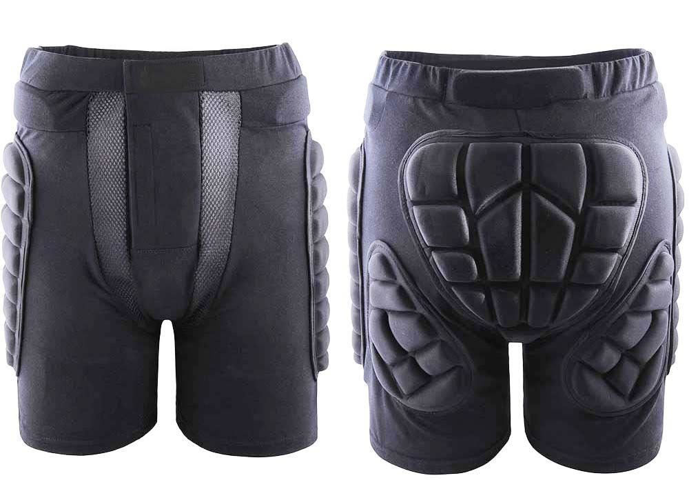 Protective-Outdoor-Ski-Snowboard-Skate-Impact-Padded-Flex-Shorts-Guard-Armour